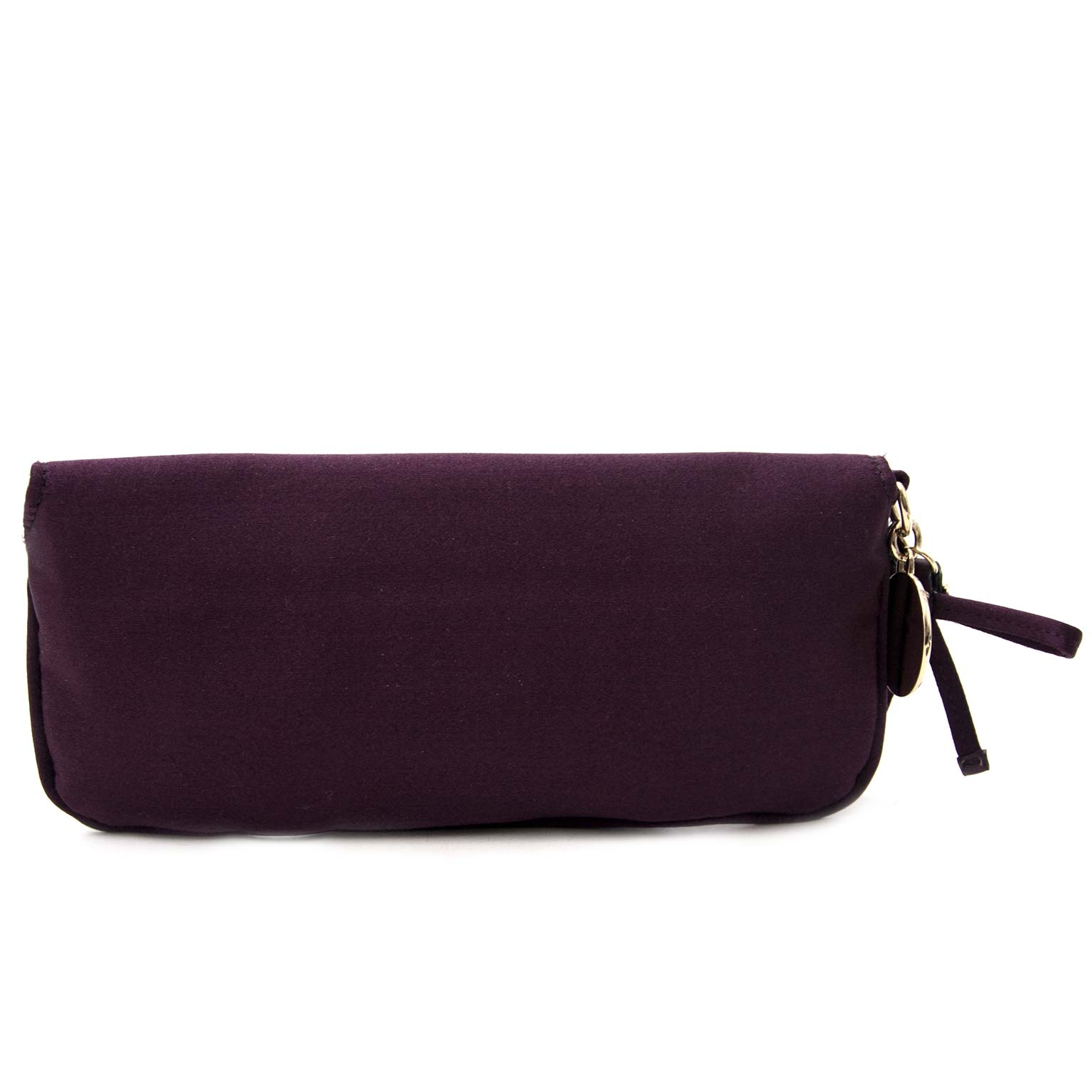 Gucci Crystals Purple Clutch Bag