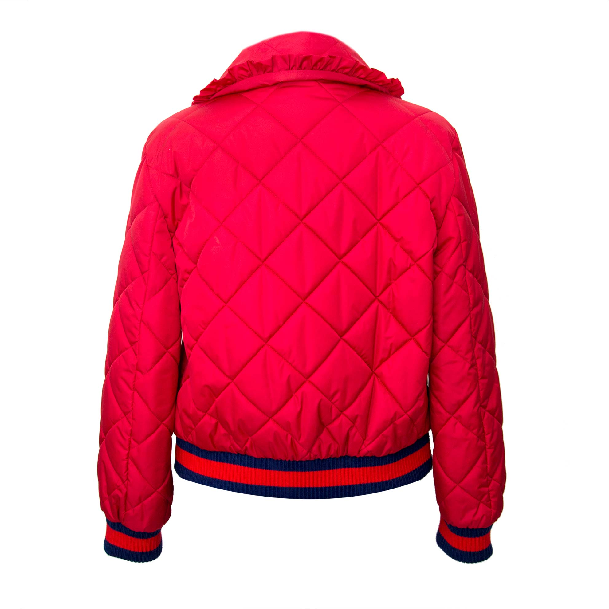 looking for a gucci quilted shell bomber jacket? Buy it now at labellov.com for the best price