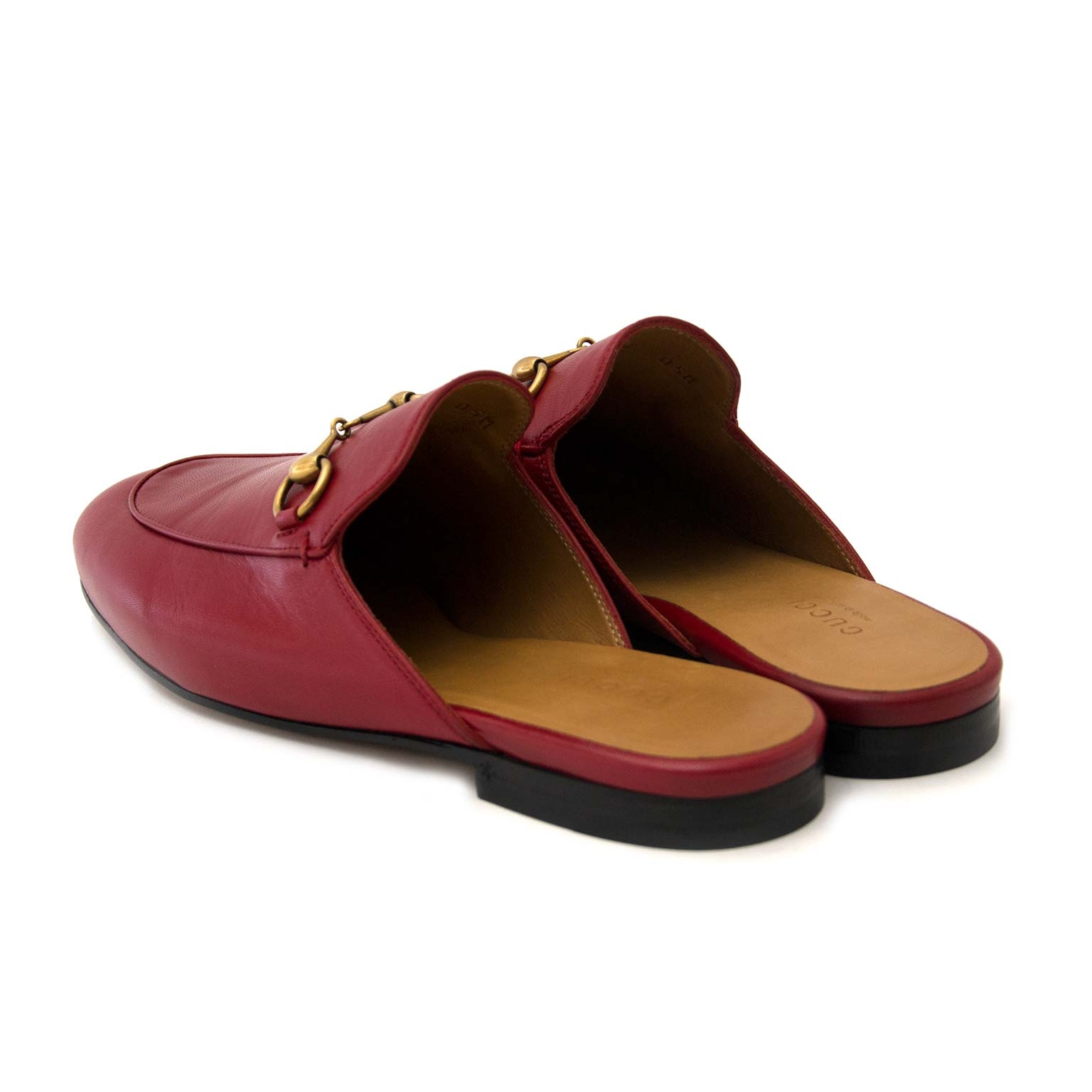 d94d805ef ... buy secondhand authentic Gucci Princetown Leather Slipper at the right  price at Labellov, online vintage