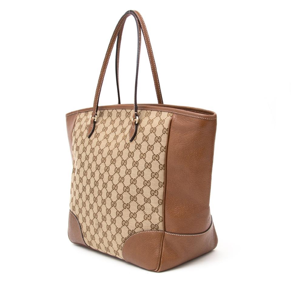 f09fa17b30 ... acheter en ligne pour le meilleur prix seconde main sac a main Gucci GG  Guccissima Bree