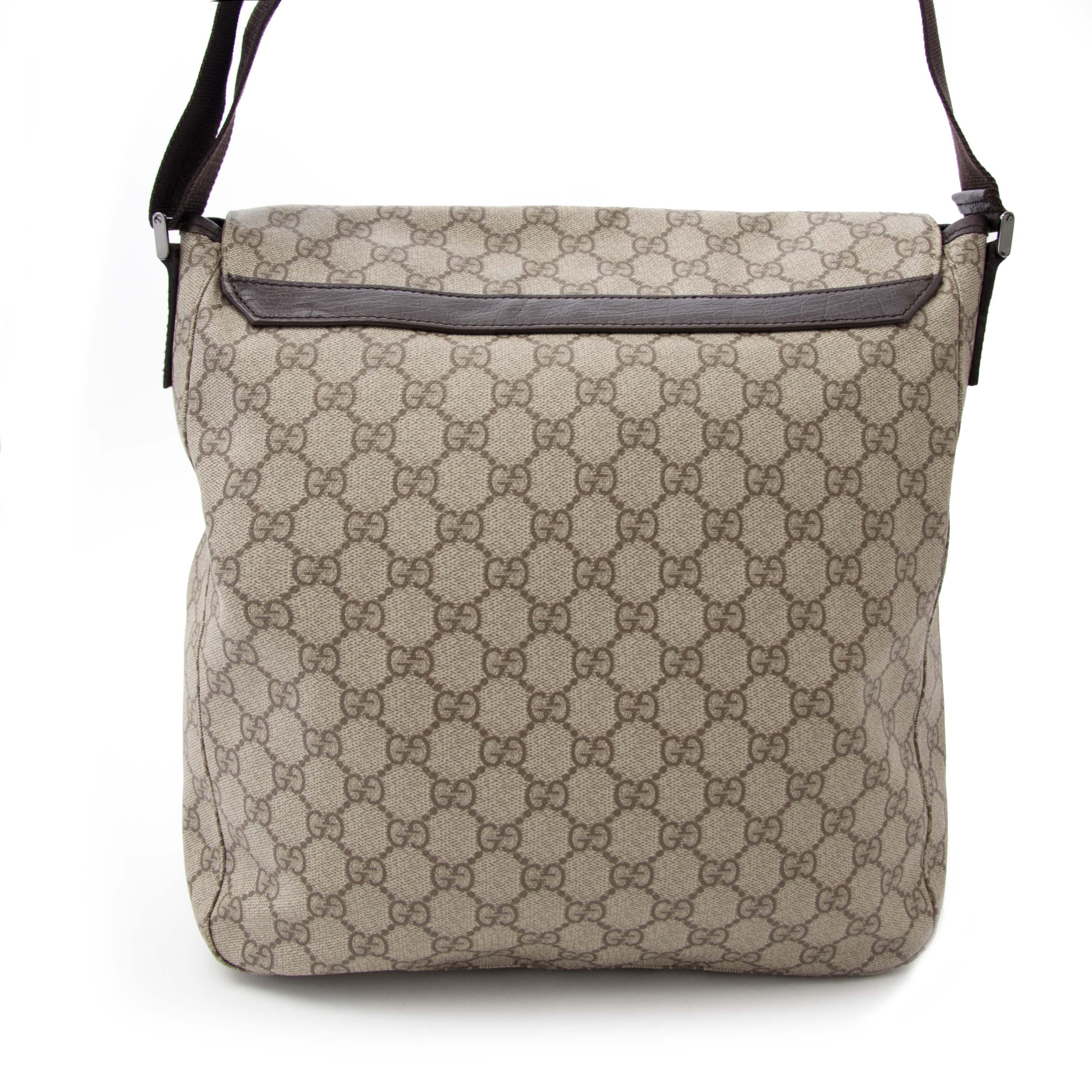 comme neuf sac a main Gucci Monogram Messenger Bag
