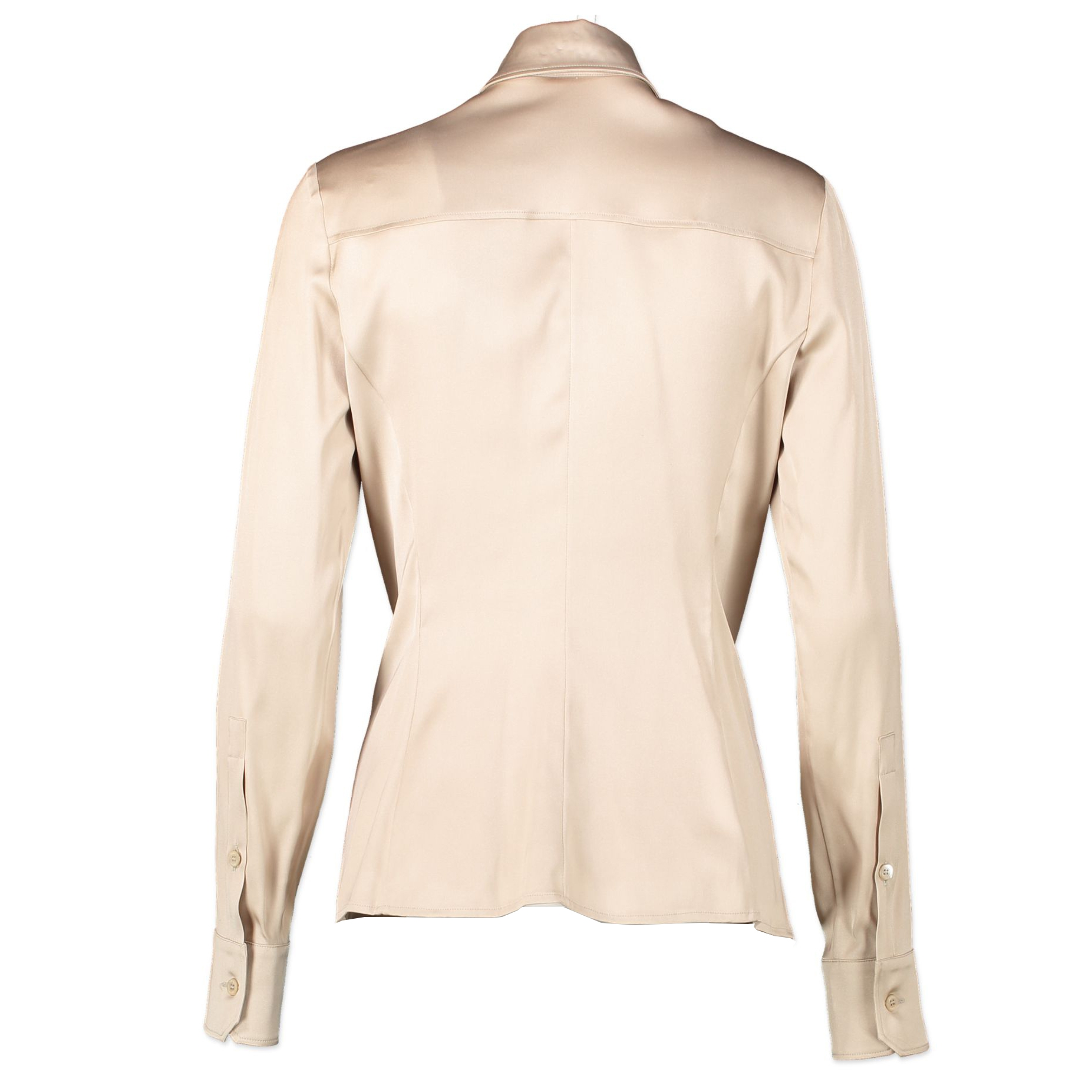 Gucci Beige Silk Blouse - IT 38