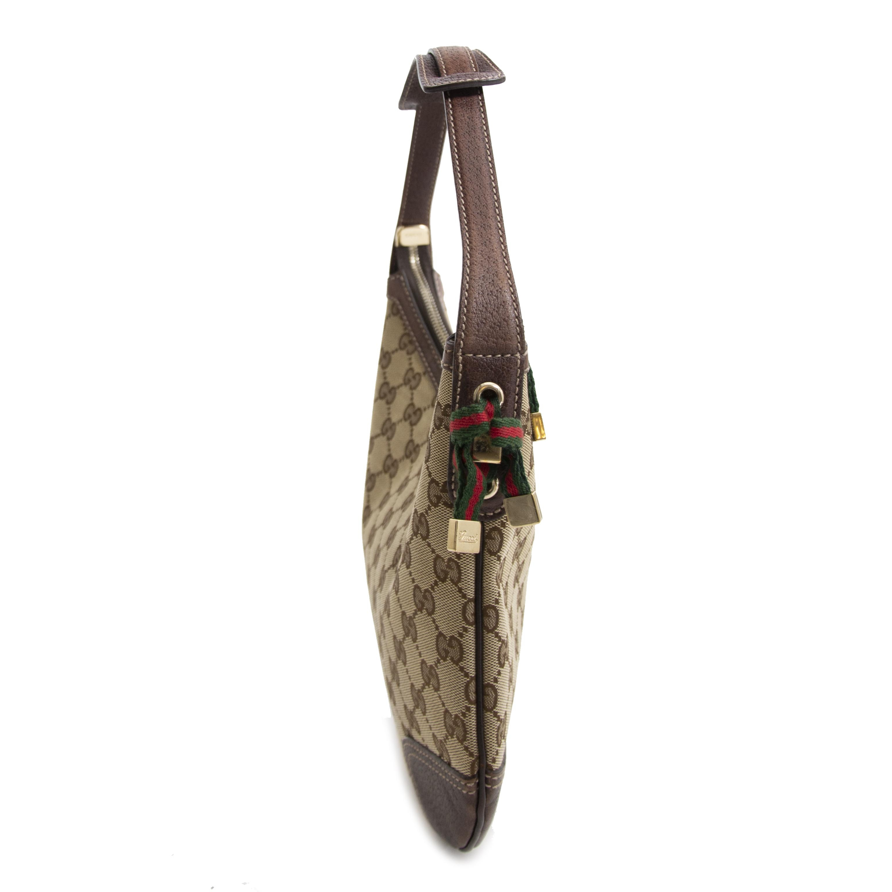Gucci Beige Monogram Bag