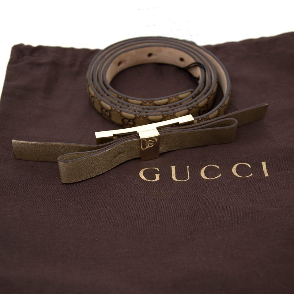 acheter en ligne pour le meilleur prix ceinture guccci neuf site en ligne et boutique labellov