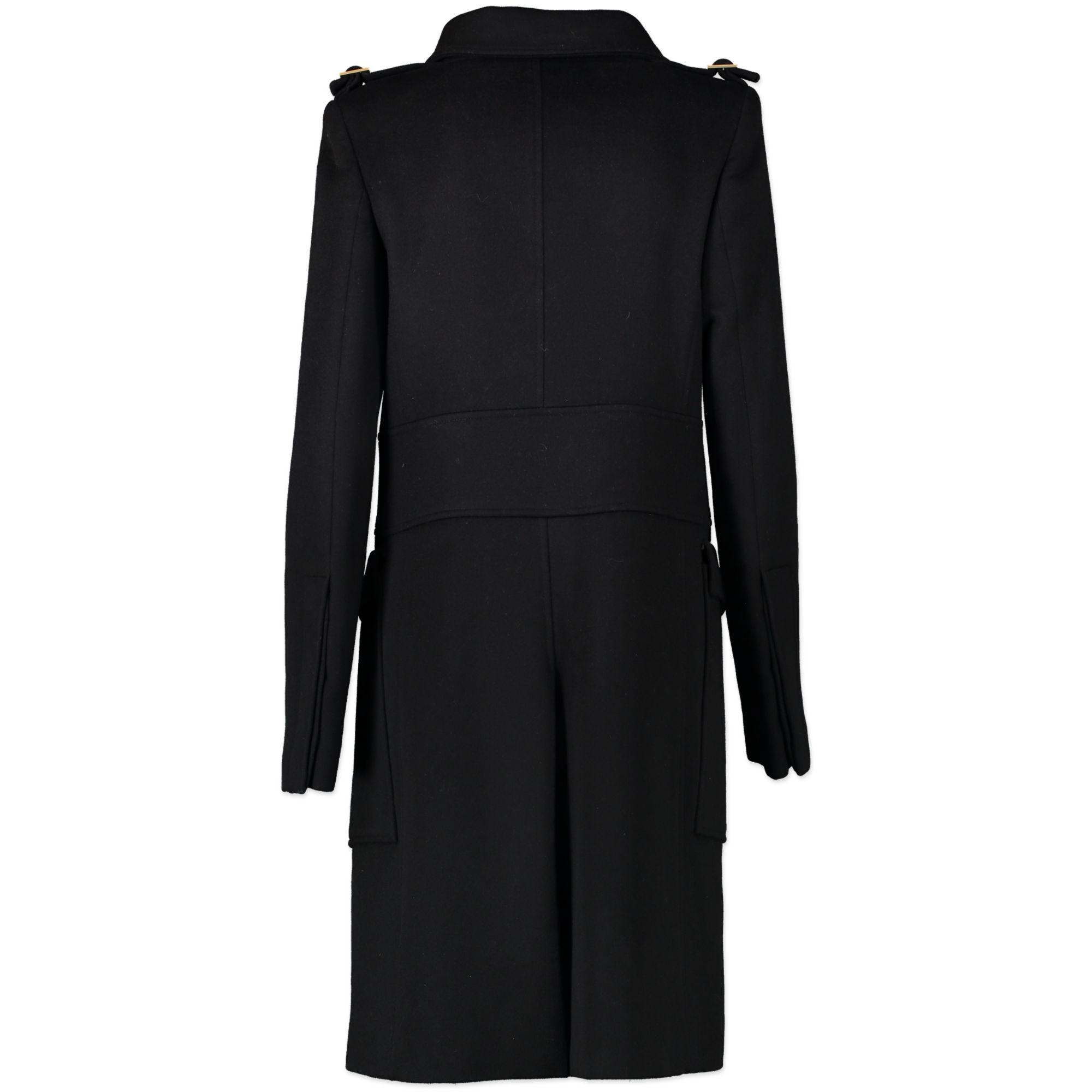 We buy and sell your authentic Gucci Black Wool Coat - Size 40