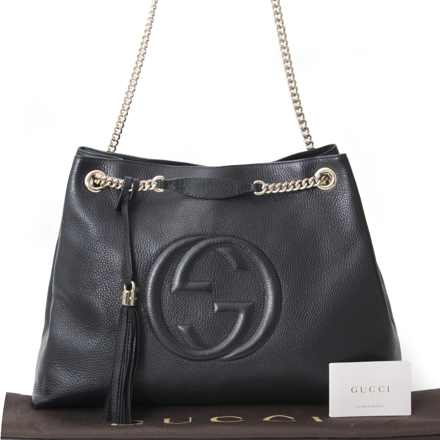 34ff49592 Buy authentic Gucci Soho Bag at the right price at LabelLOV vintage  webshop. Luxe