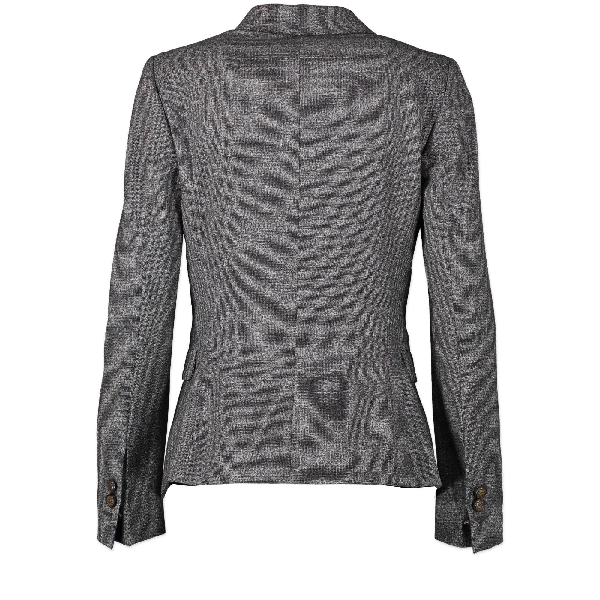 Gucci Wool Grey Blazer - Size IT38