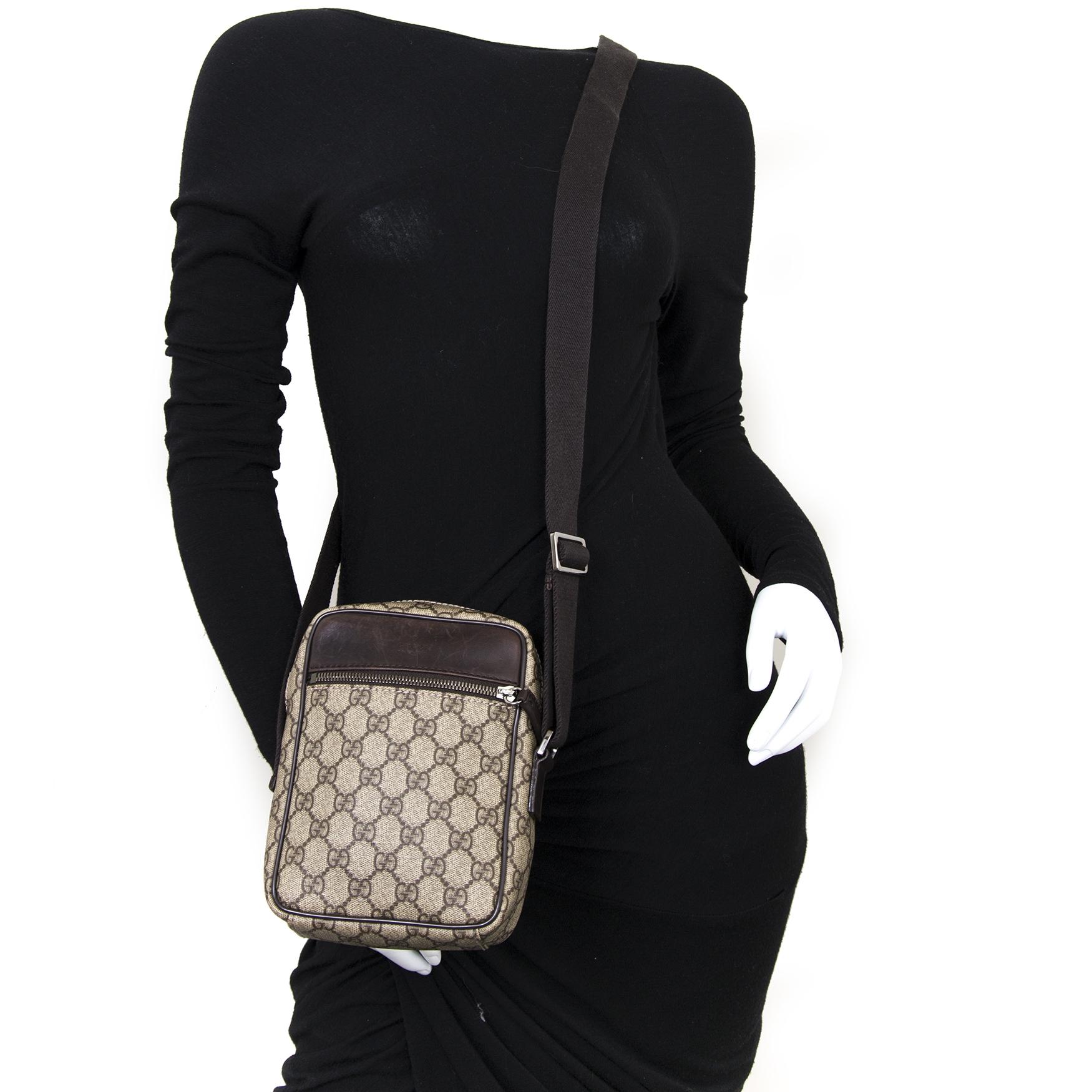 Achetez secur en ligne votre sac Gucci Guccisima Crossbody Shoulder Bag pour le meilleur prix
