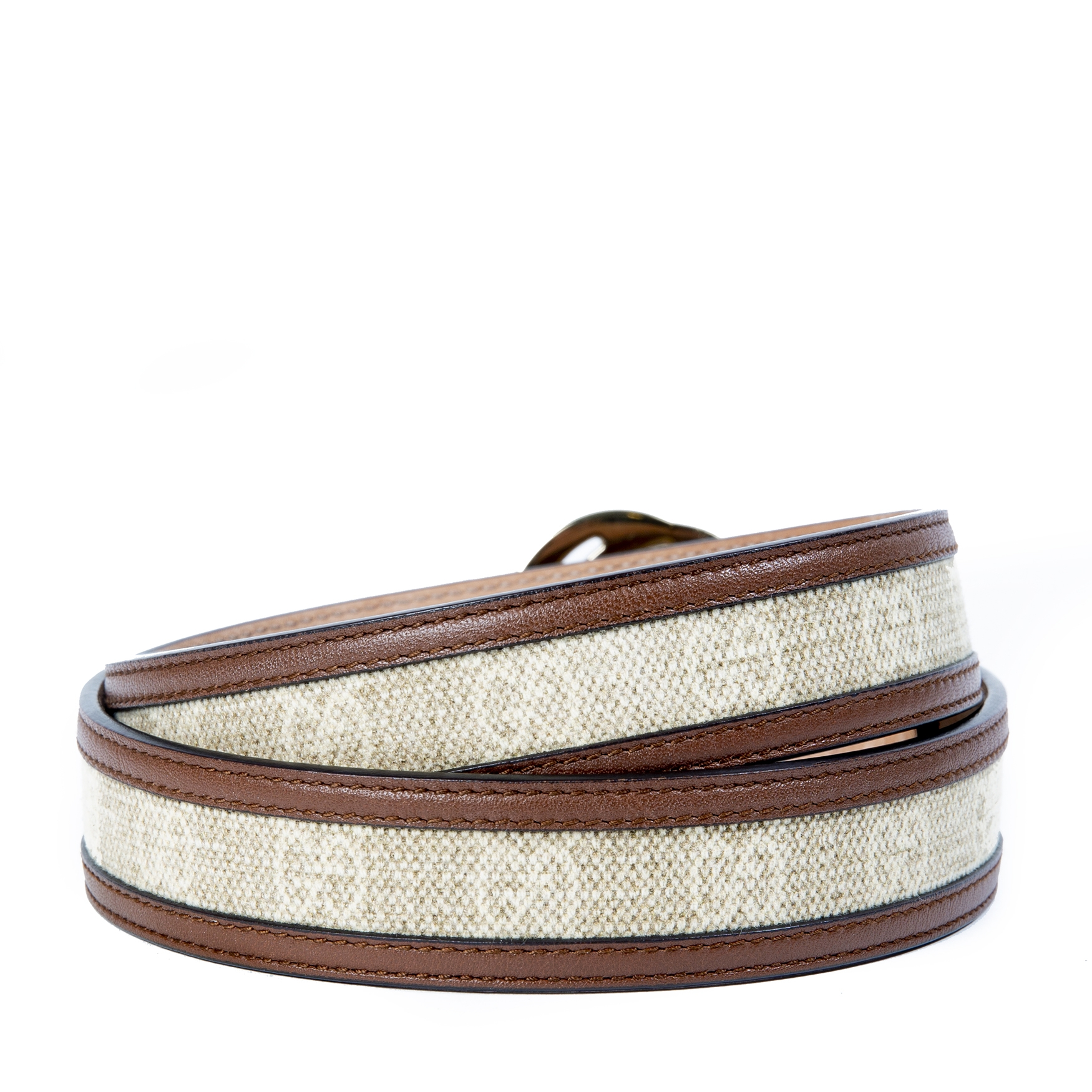 04b41519a95e ... Gucci Monogram Interlocking G Belt - Size 80 now for sale at labellov  vintage fashion webshop