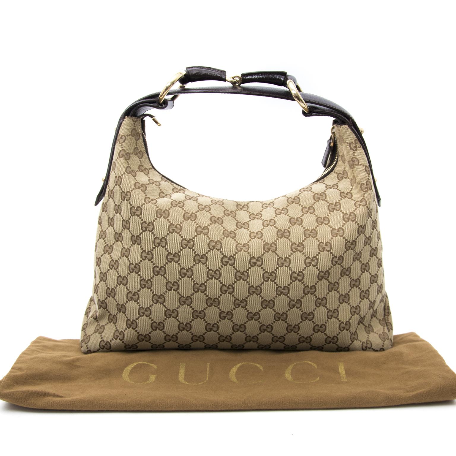 comme neuf sac a main Gucci Monogram Hobo Bag Anvers et en ligne