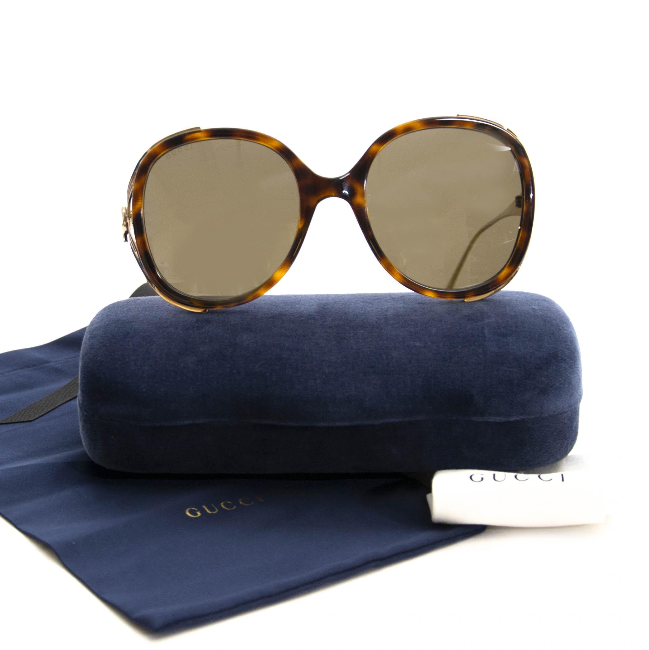 Gucci Open Temple Sunglasses kopen en verkopen aan de beste prijs bij Labellov