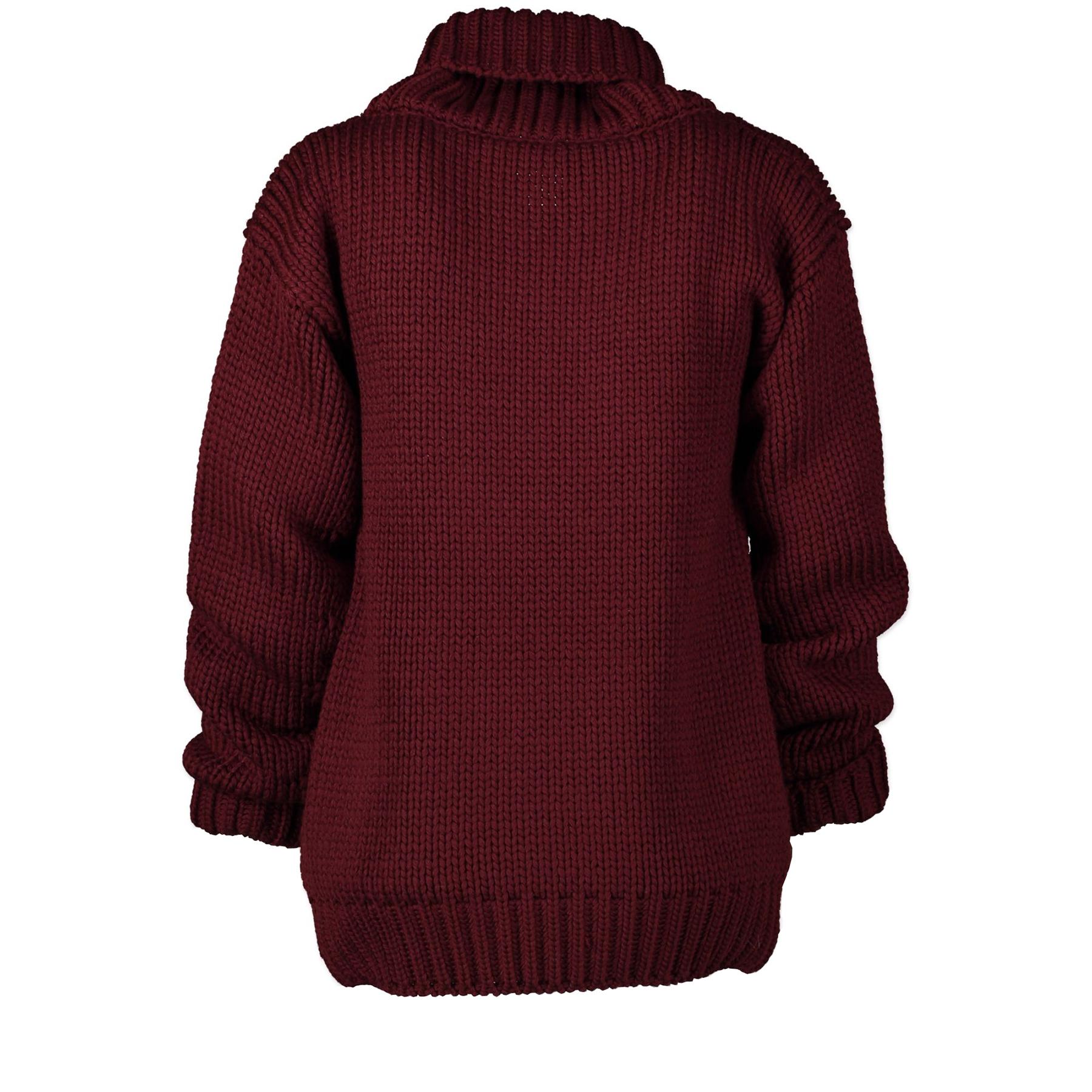Koop tweedehands Gucci Burgundy Knitted Sweater - XS aan de juiste prijs online in alle veiligheid aan bij LabellOV online webshop