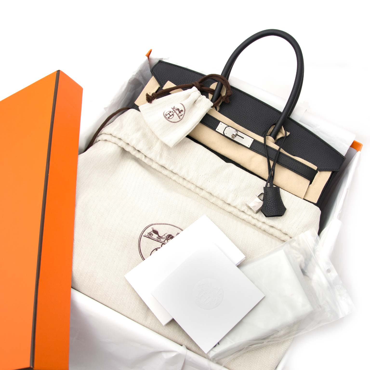 3a3f9b4096 100% authentiek looking for a Hermès Birkin 35 Togo Black PHW  Skip the  waitinlist and get your