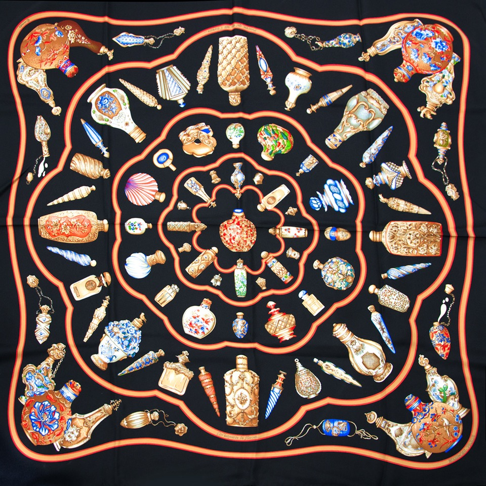 Hermes Silk Scarf Carre