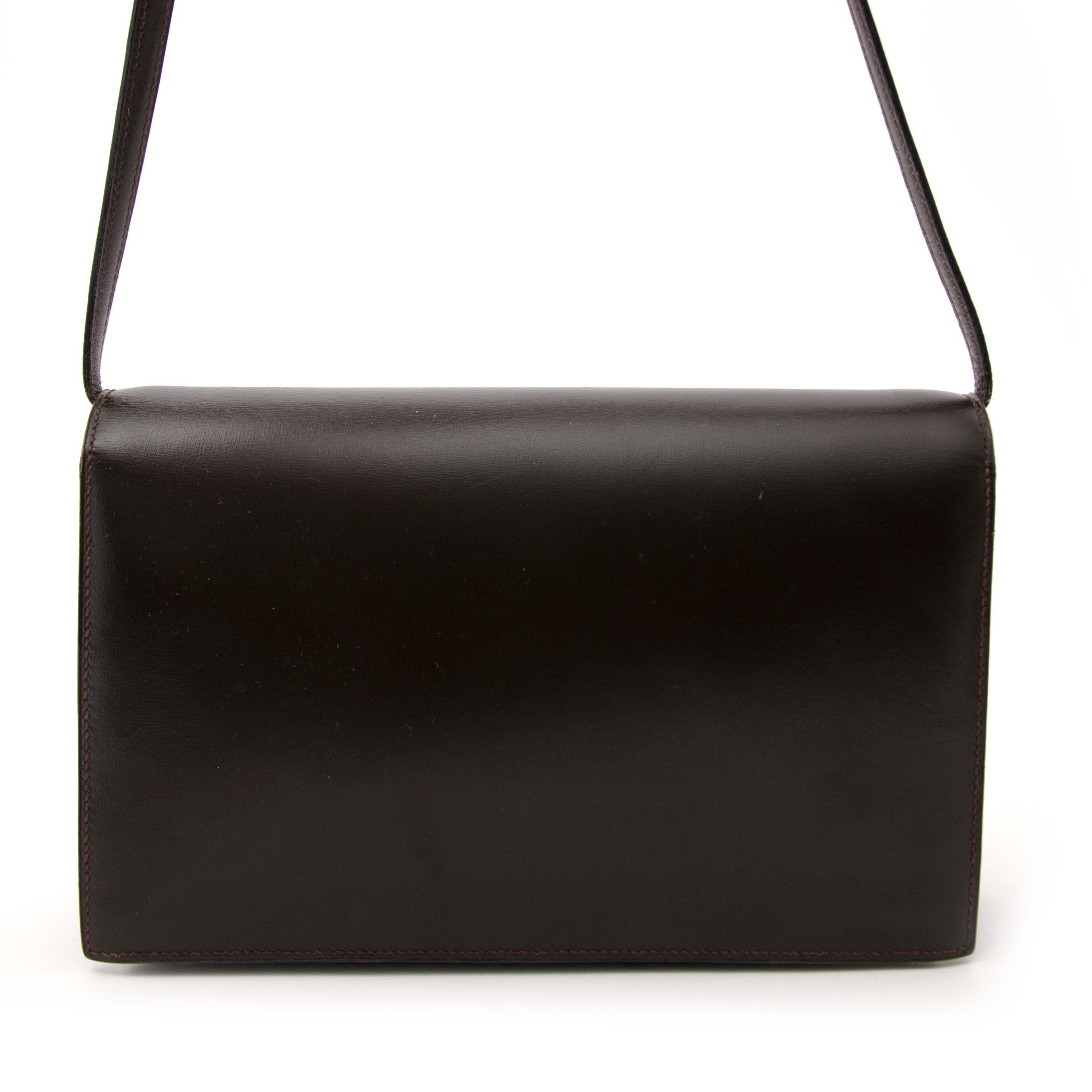 Authentieke tweedehands Hermès handtas/clutch Labellov