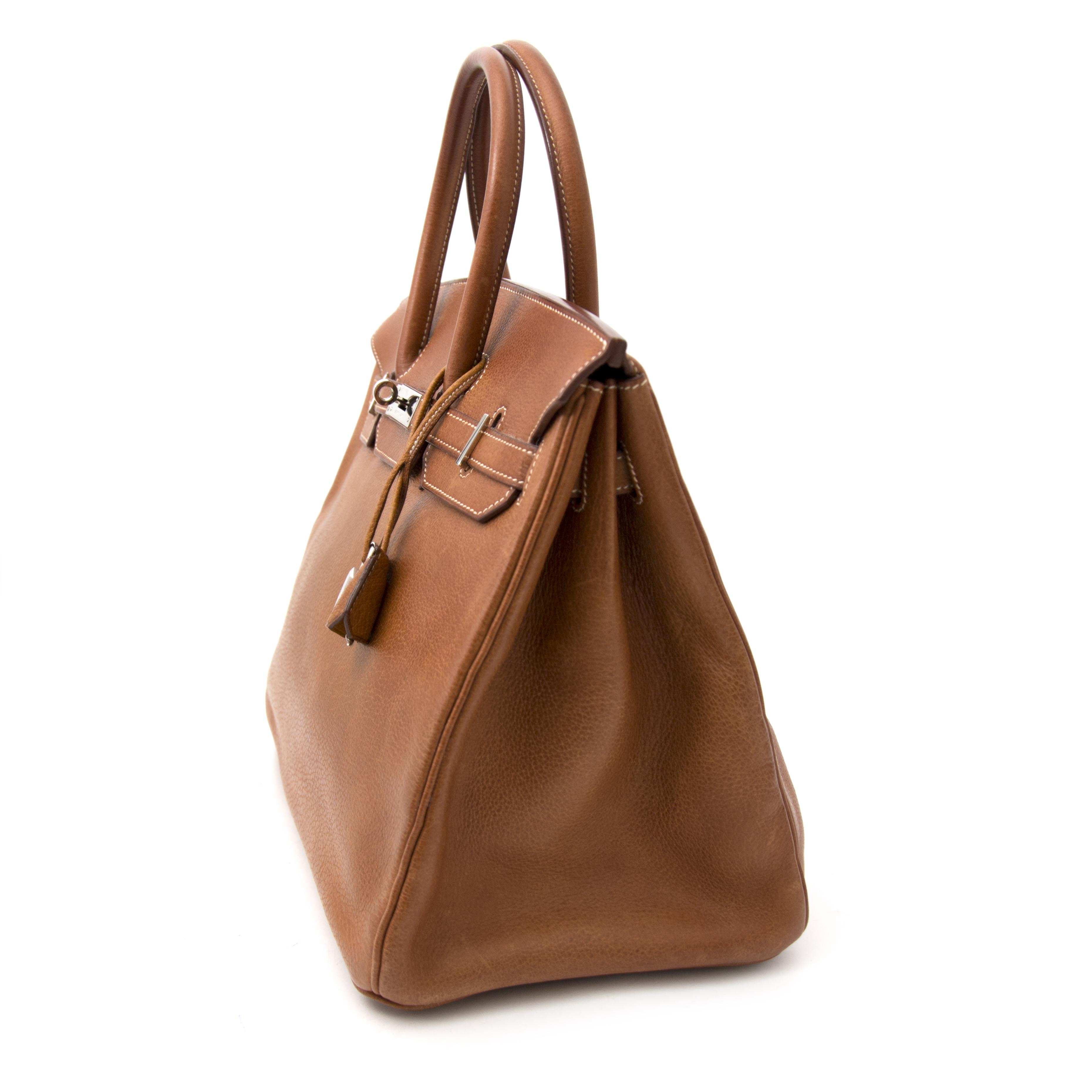 looking for a hermes birkin bag in baffalo leather? Buy it now at labellov.co for the best price