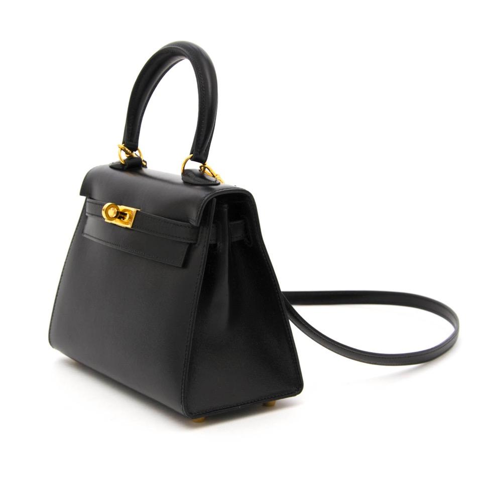 comme neuf Very Rare Hermès Kelly Mini 20cm Boxcalf  limité 100%authentic , anvers belgique