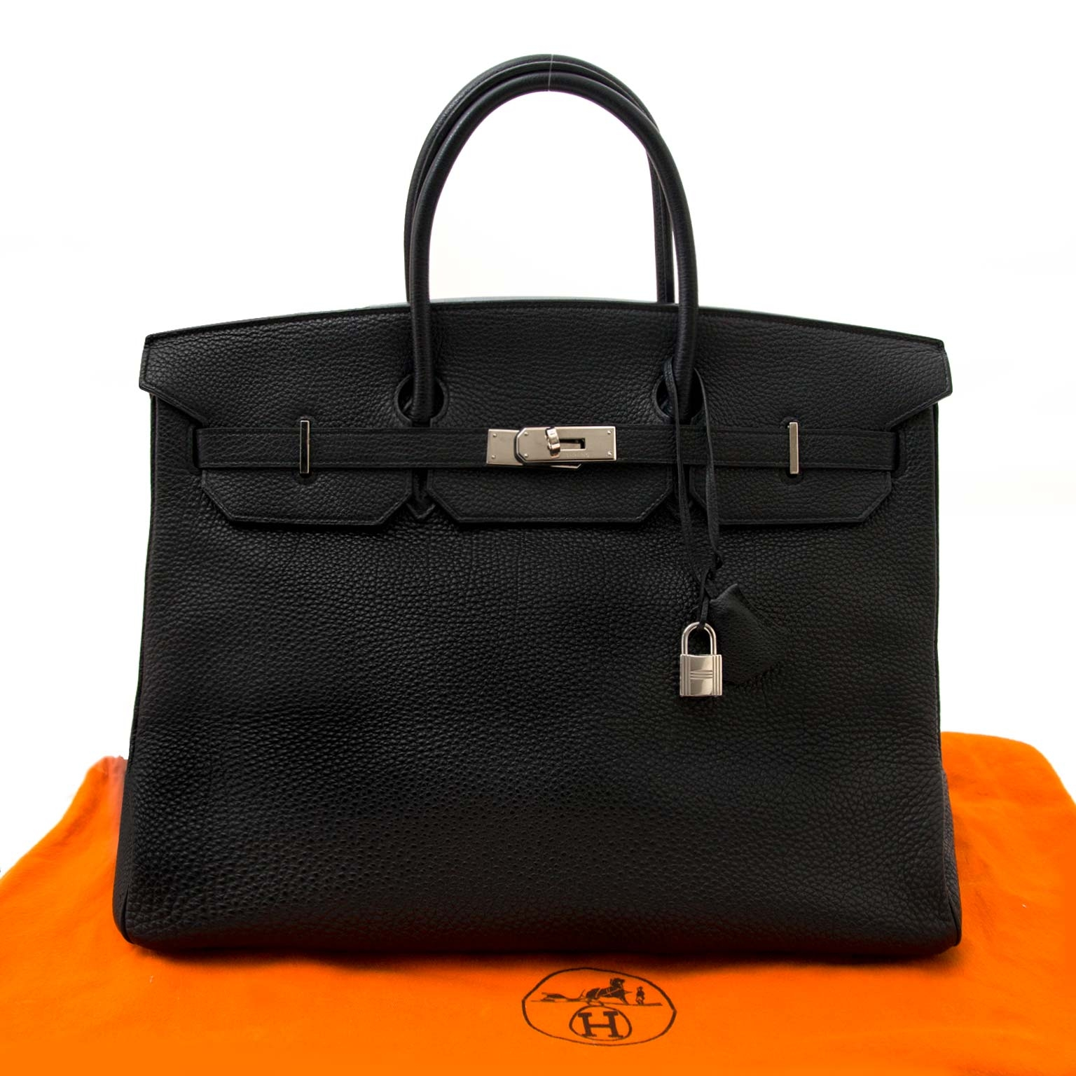 Hermès Birkin 40 Togo Black PHW now for the best price online at labellov.com