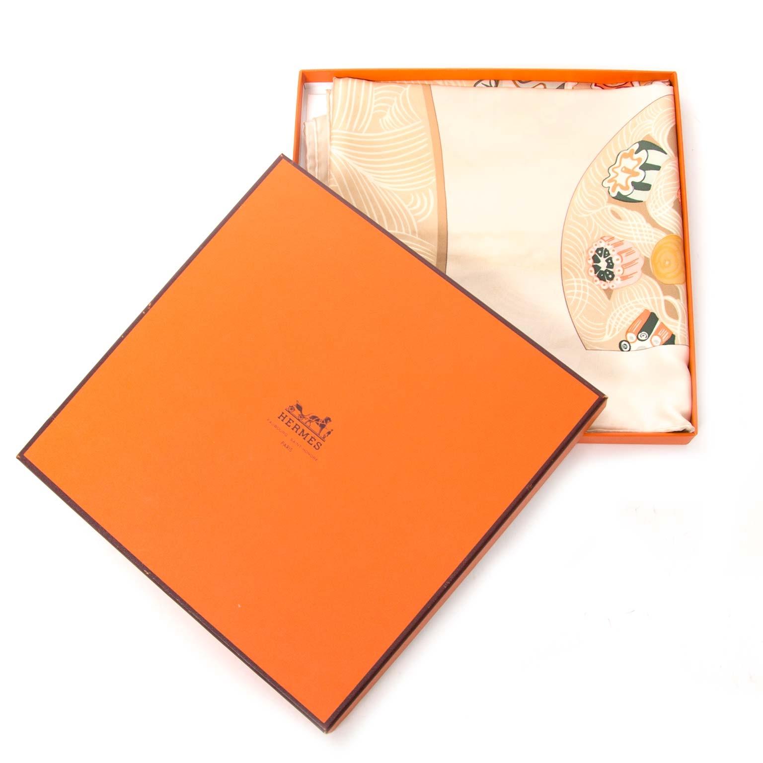 koop Hermès Carre Silk Scarf