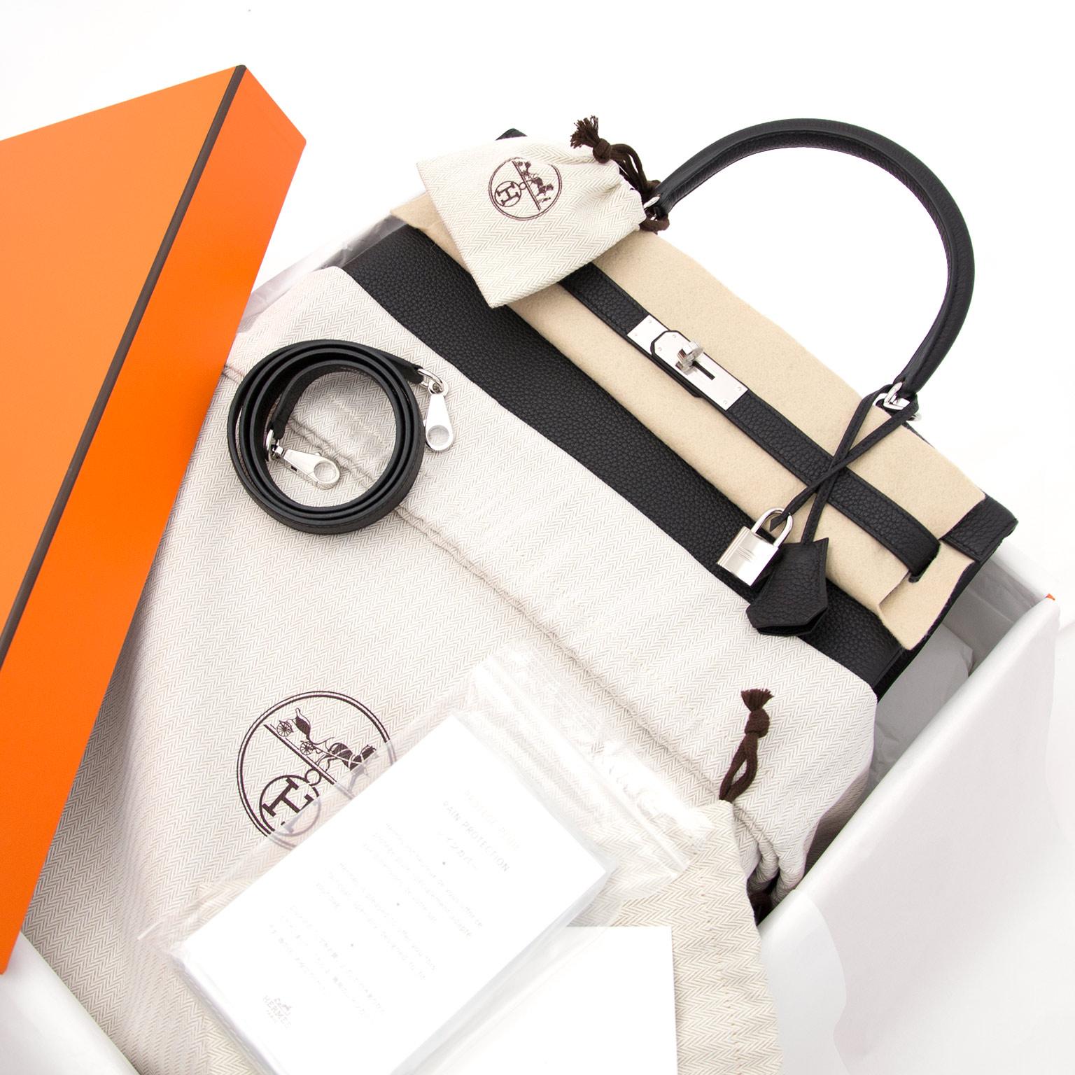buy safe and secure online at labellov.com hermes kelly 35 togo black now