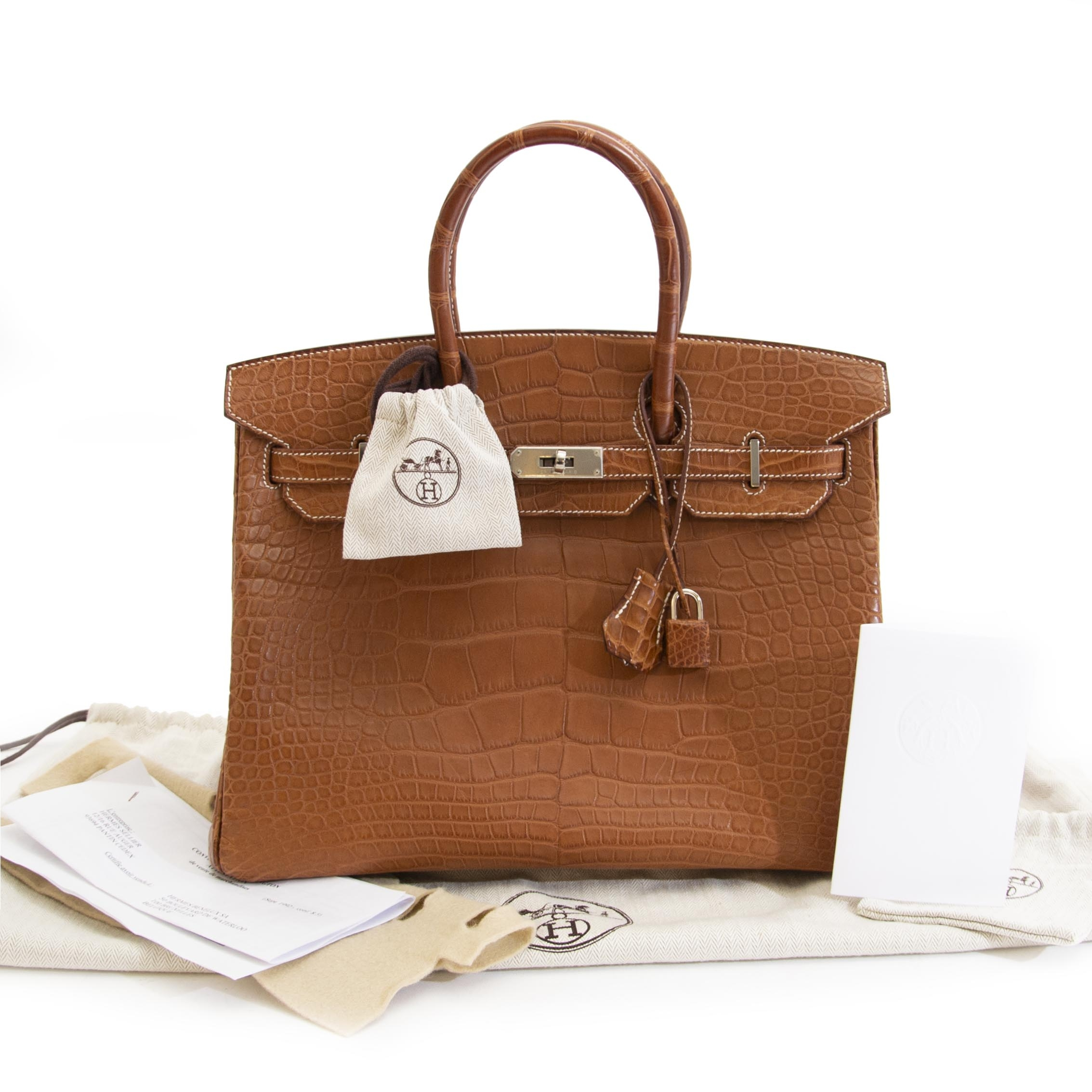 3fcfc19968 ... looking for a Hermès Birkin 35cm alligator barenia fauve PHW  skip the  waitinlist and get