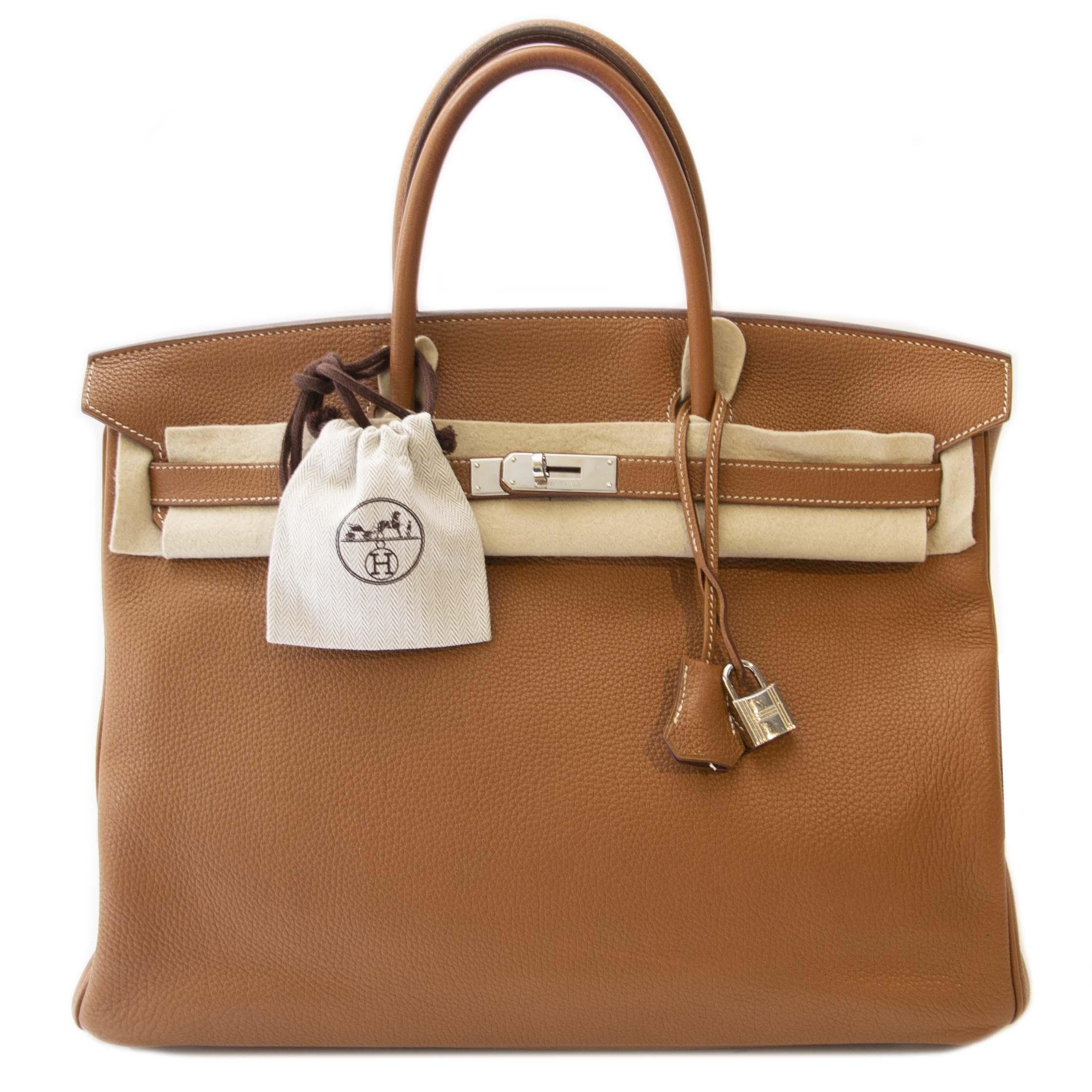 Hermès Birkin 40 Gold Togo PHW