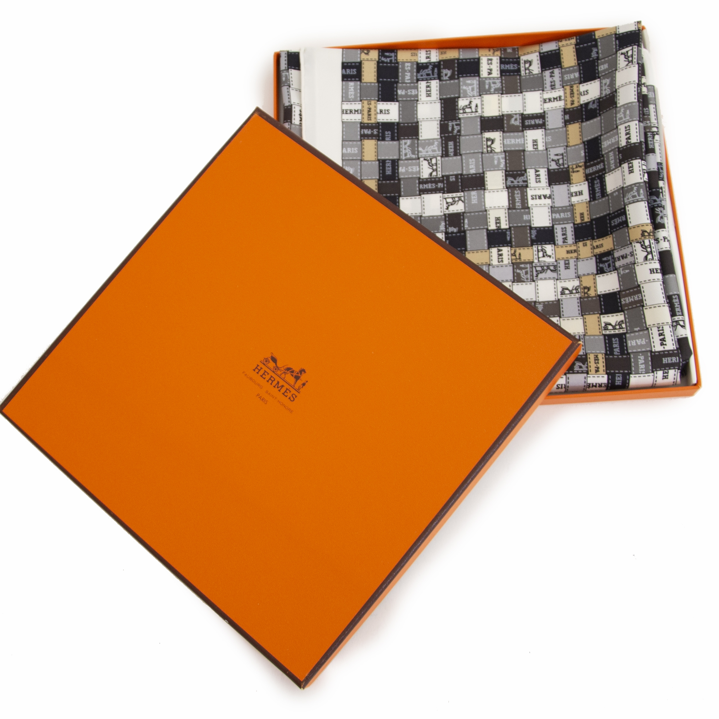looking for a Hèrmes Bolduc Au Carré Scarf? Now online at labellov.com for the best price
