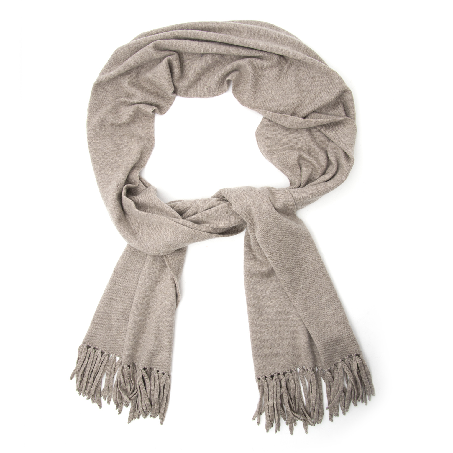 Buy a secondhand Hermes Taupe 100% Cashmere at the right price