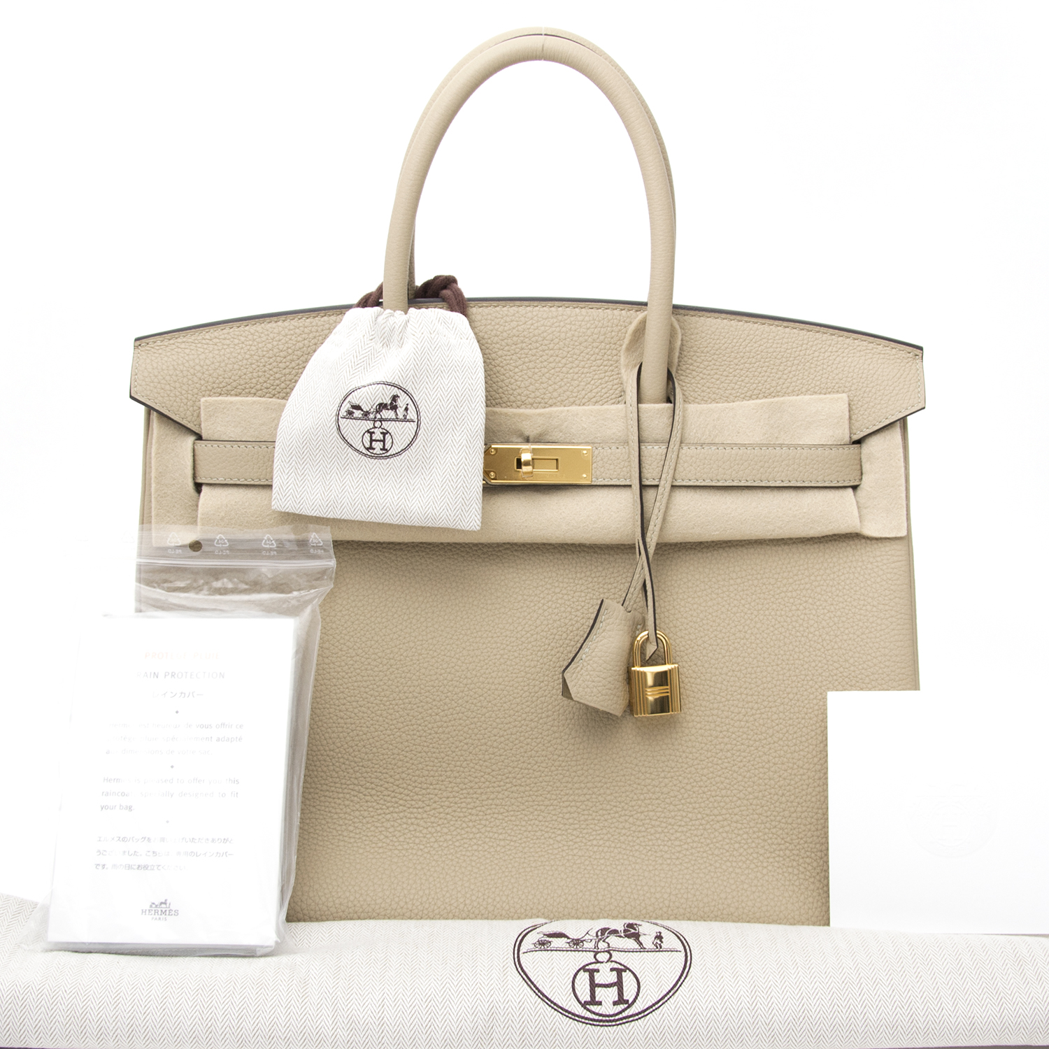 Hermès brand new christmas gift ? shop your desinger brand new Brand new Hermès Birkin 35 Trench Togo  at labellov.com