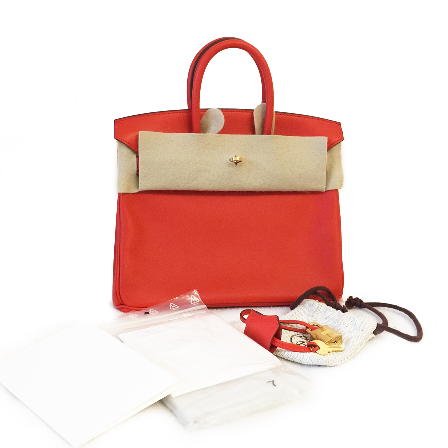 Never Used Hermes Birkin 25 Rouge Capucine Swift searching For Birkin Bag    no waitinglist only 100% atuthentic full set neuf 100% 57bfc13529bb1