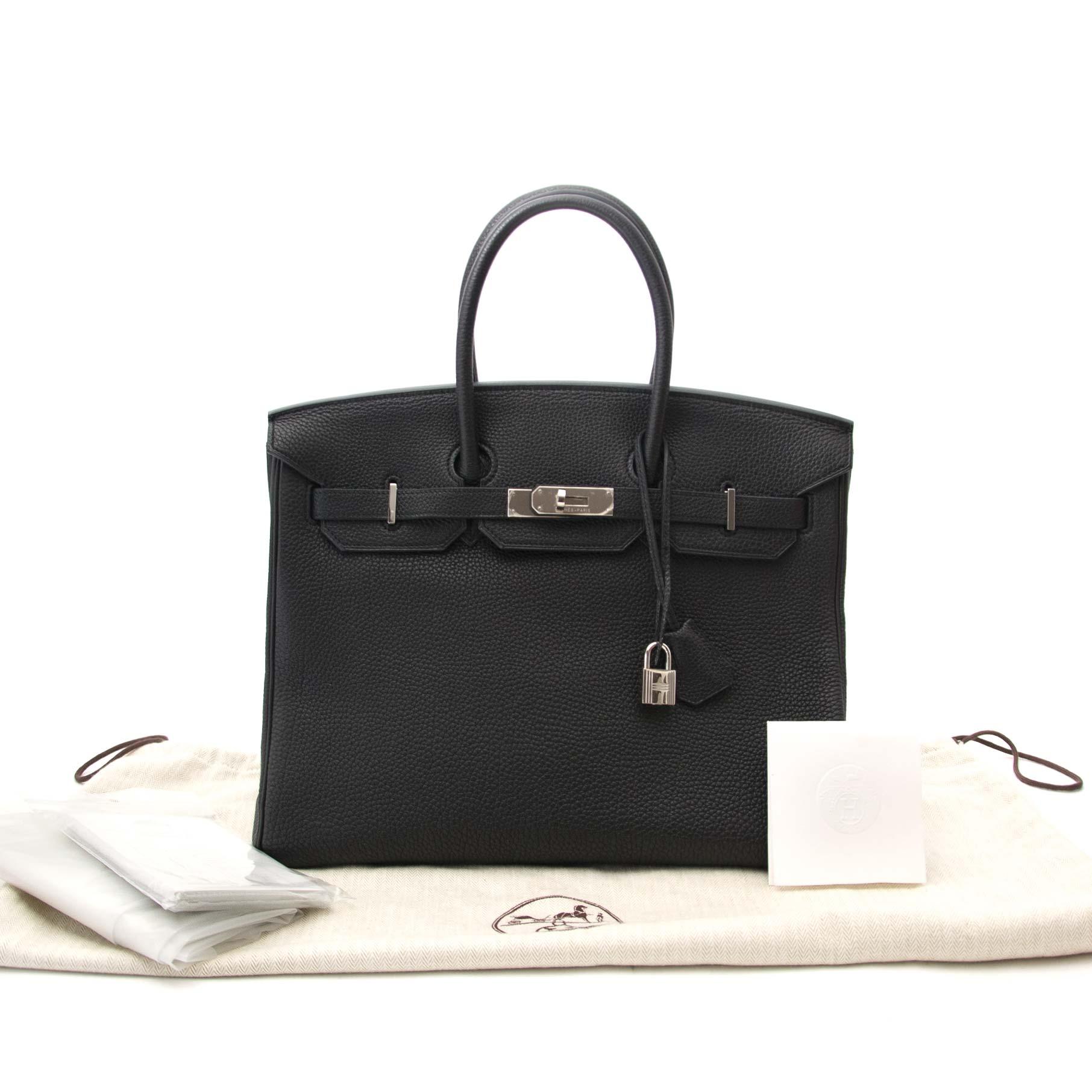 Hermès Bikrin 35 togo black phw now online at labellov.com shop your hermes  birkin safe and secure online at labellov.com cafdb4b5ae036