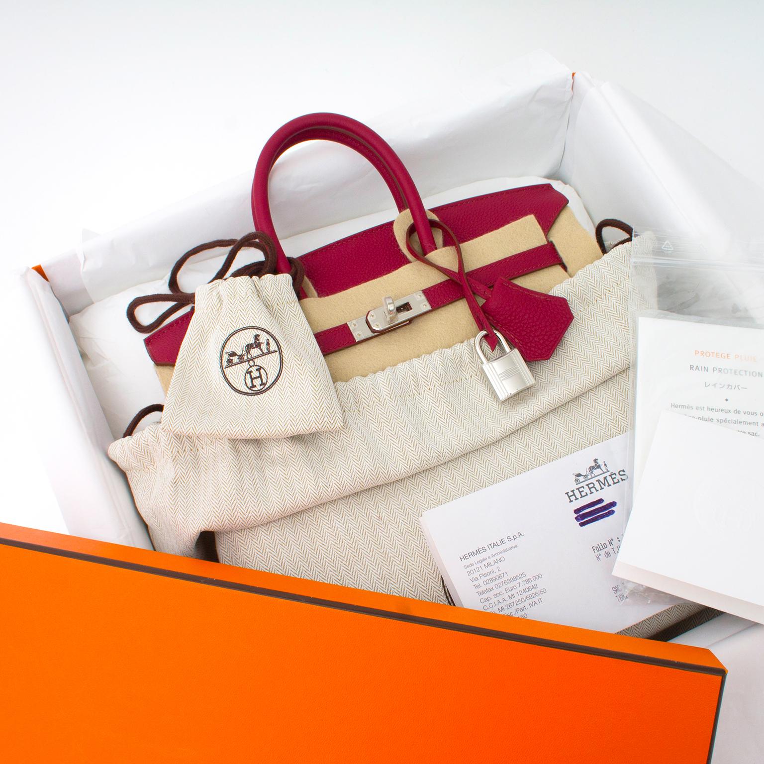 ... Veilig online winkelen bij LabelLOV. Koop nu een echte authentieke  nieuwe Hermes Birkin Togo 25 1b1c169997eff