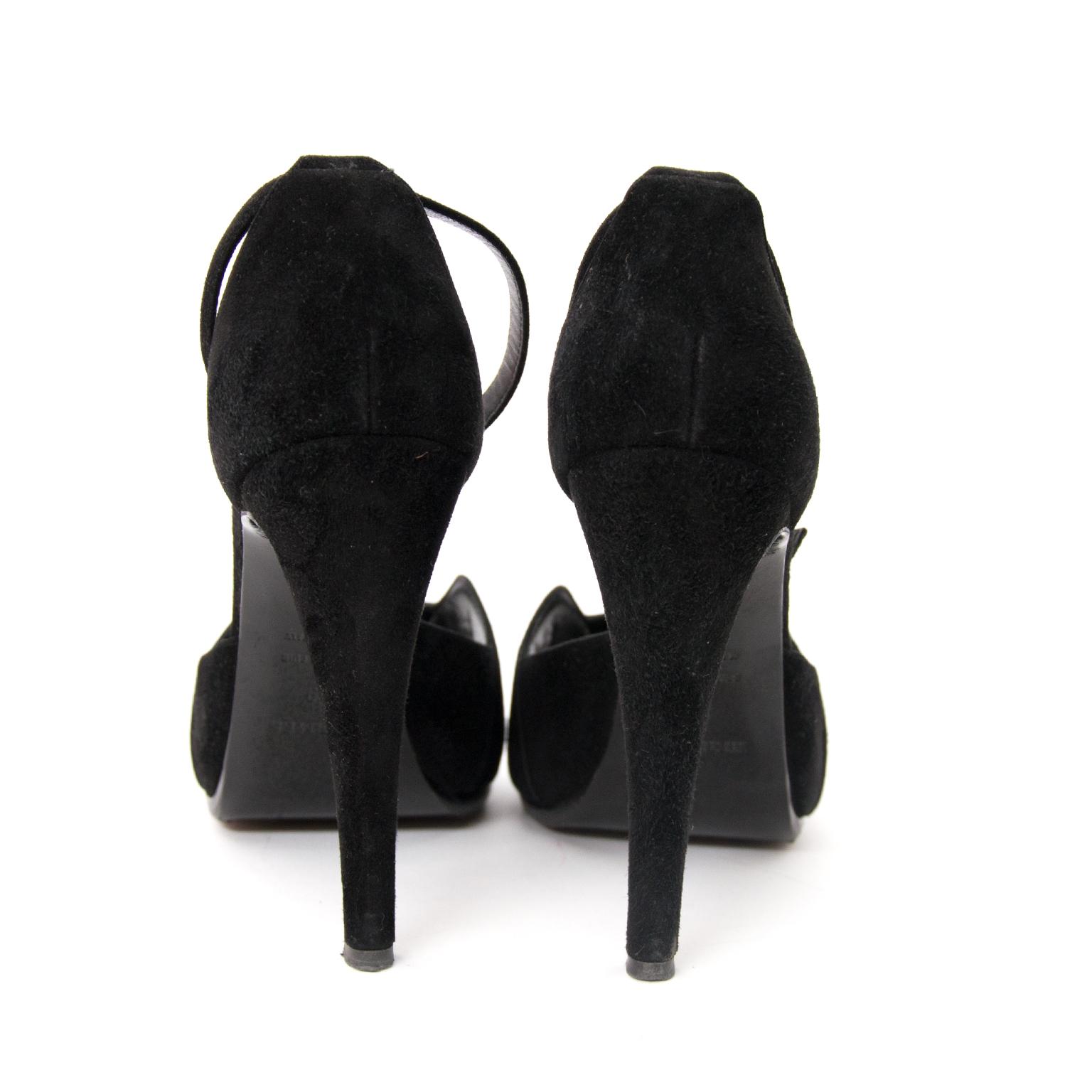 koop veilig online aan de beste prijs Hermès Suede Night Sandals - Size 39