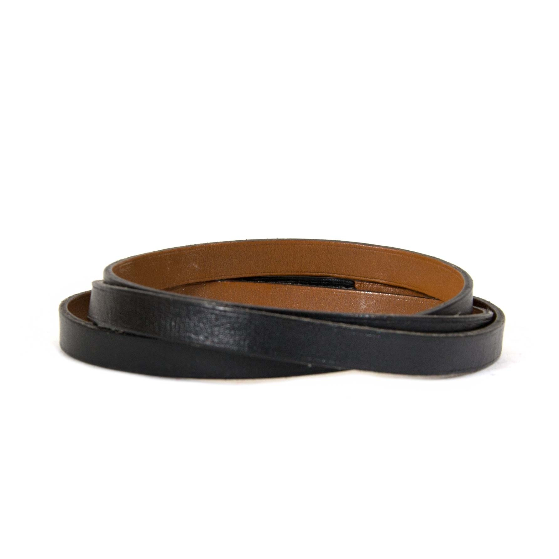 Hermès Hapi 3 Black Bracelet now for sale at labellov vintage fashion webshop belgium