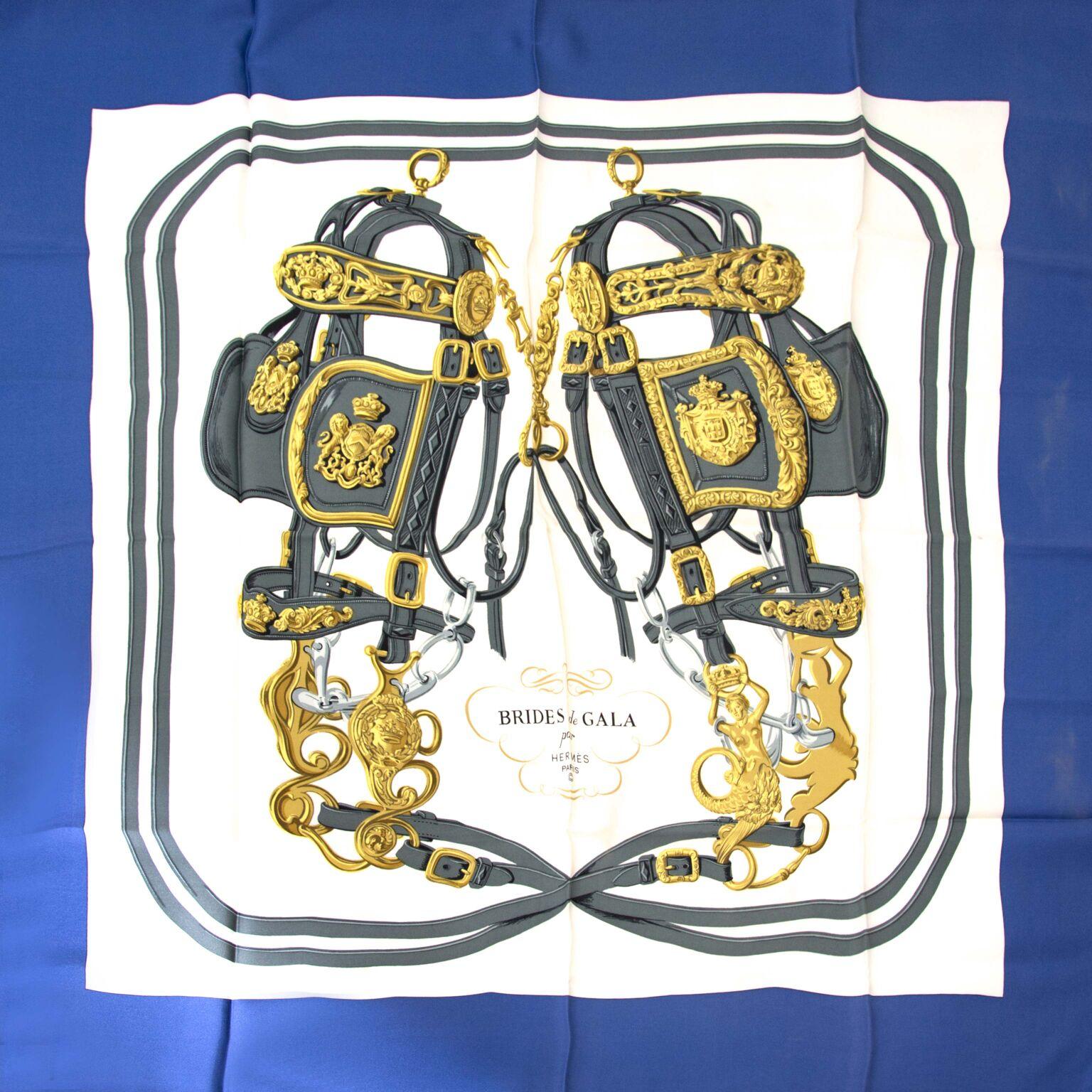 Hermès sjaal te koop op labellov.com