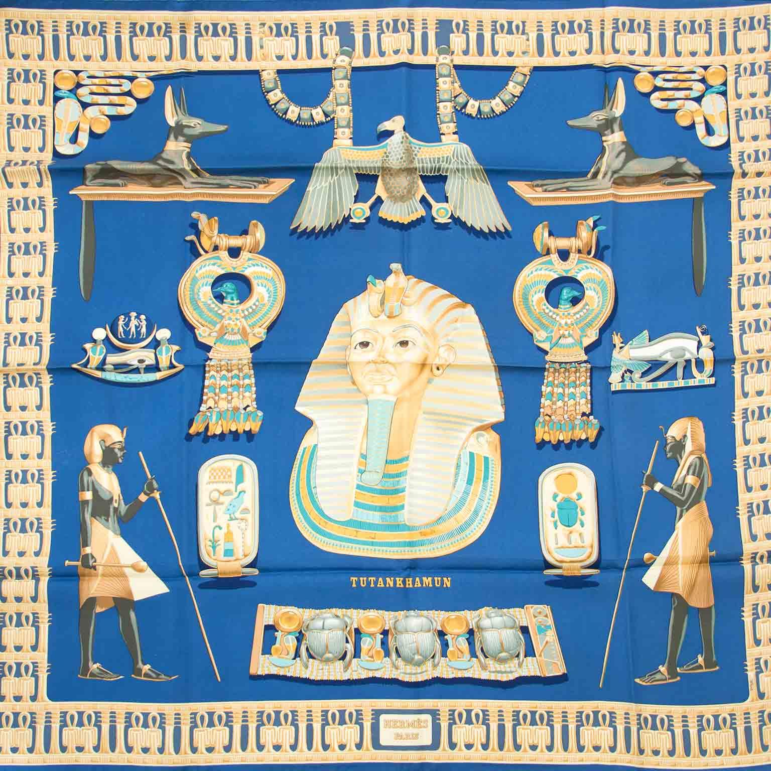 Acheter secur en ligne votre carré de Soie d'Hermes pour le meilleur prix chez Labellov