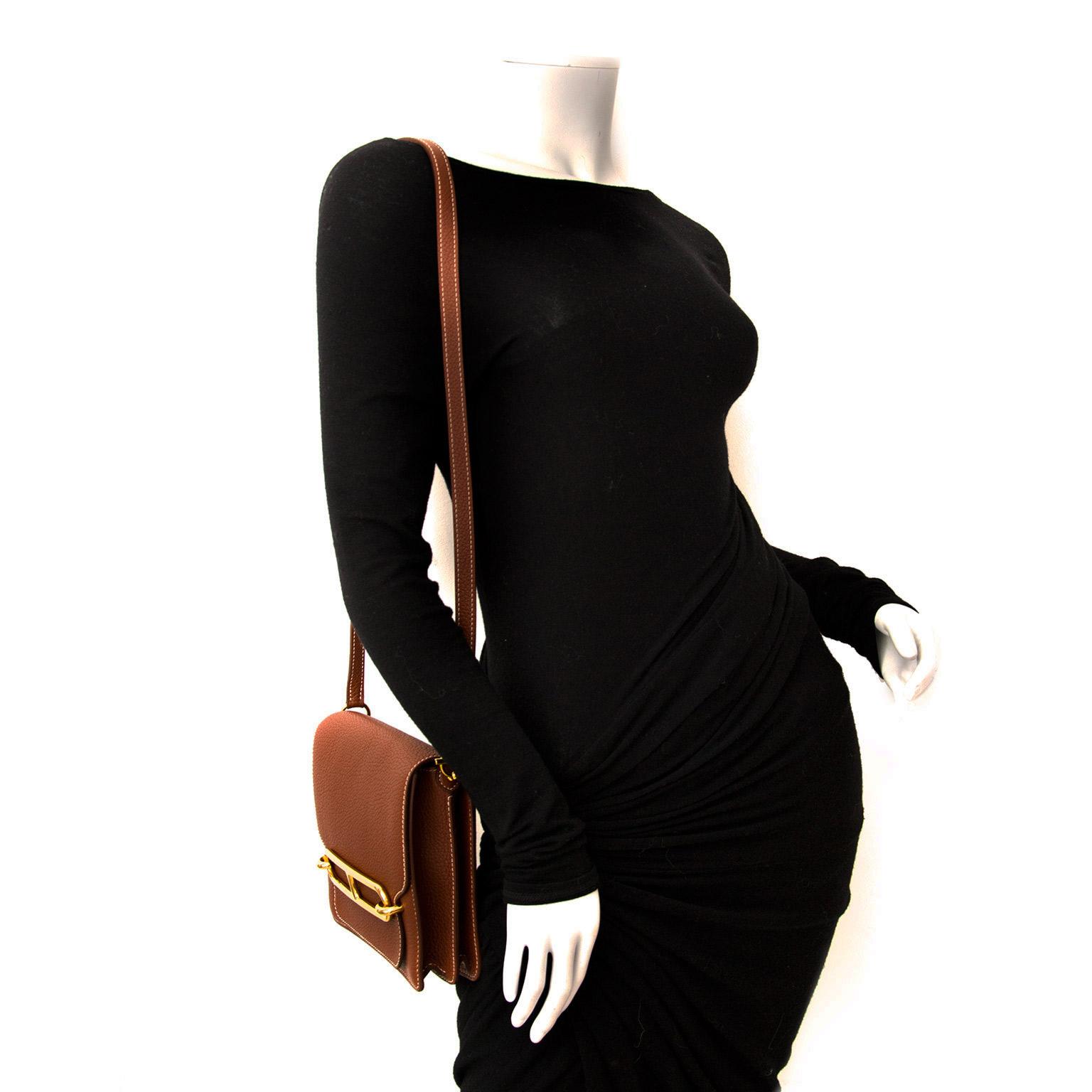 shop your designer Hermes Roulis Clemence Taurillon Shoulderbag