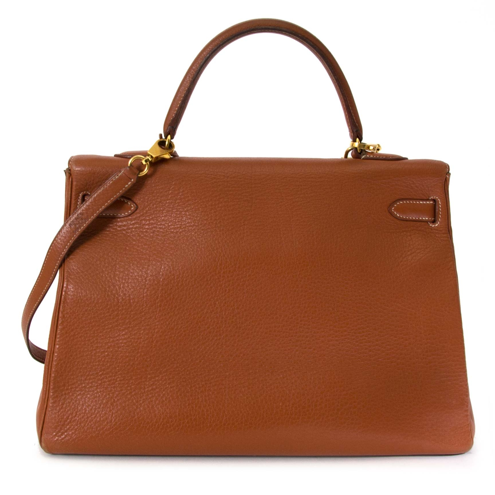 Achetez 100% authentique Hermès Kelly 35 Etrusque GHW