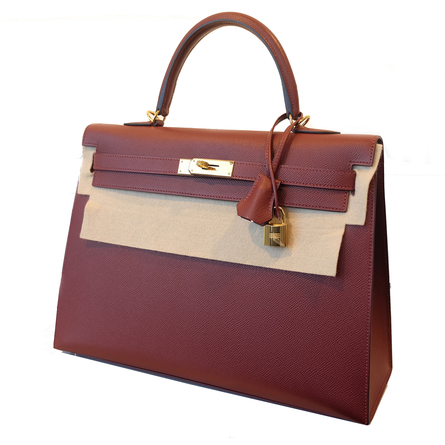 Are you looking for an authentic BRAND NEW Hermès Kelly Sellier Contour 35 Epsom Rouge H GHW?