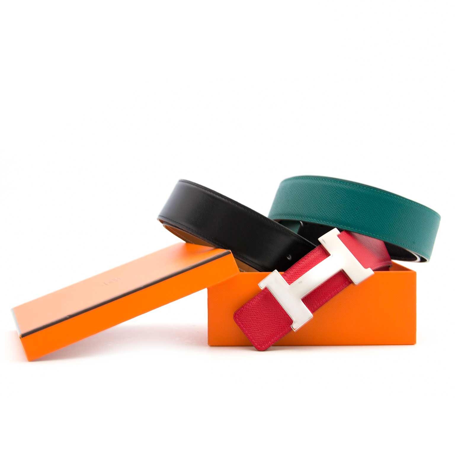 Koop uw authentieke Hermes belt set aan de beste prijs bij labellov in Antwerpen