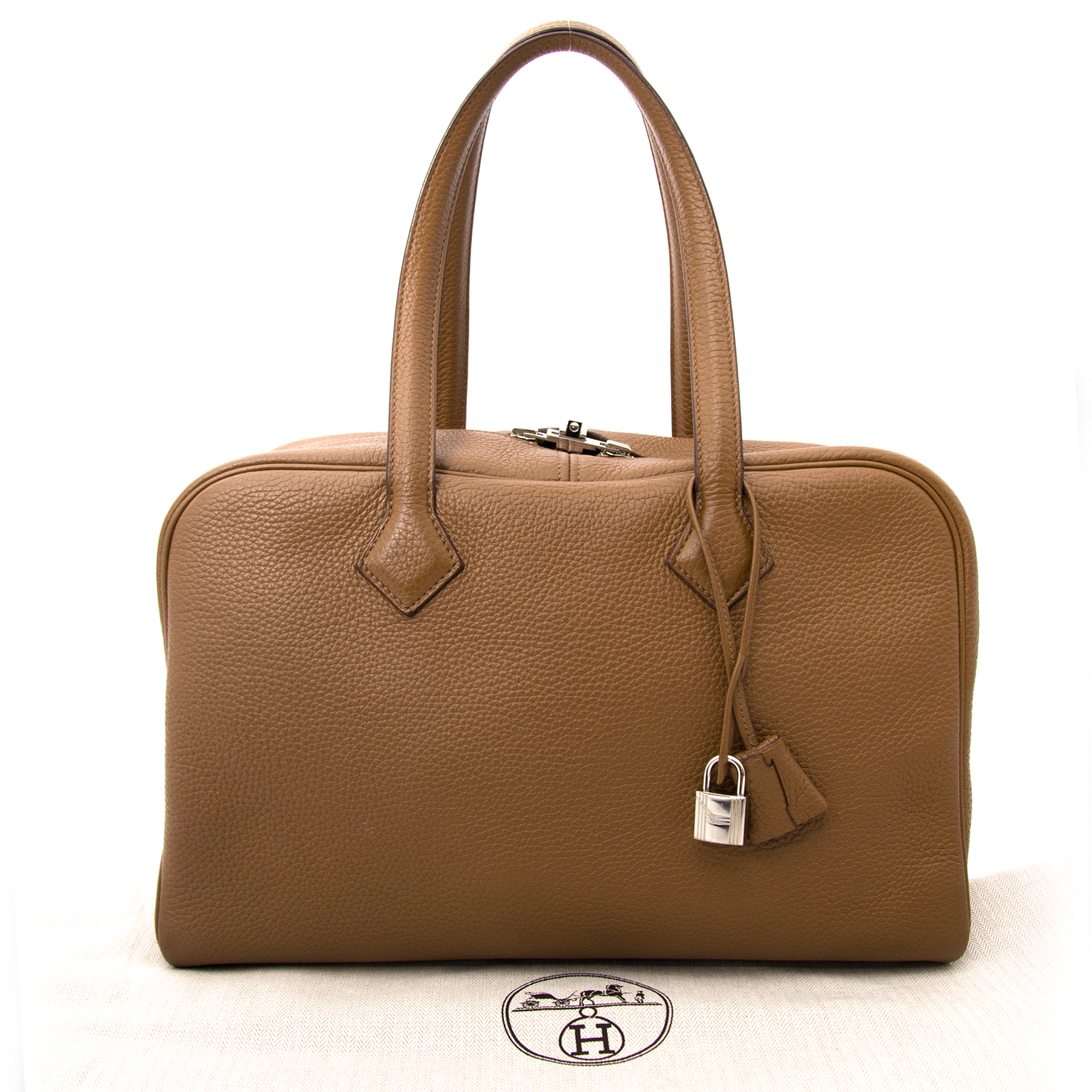 like new acheter en ligne pour le meilleur prix Hermes Alezan Victoria II Fourre-Tout  with invoice