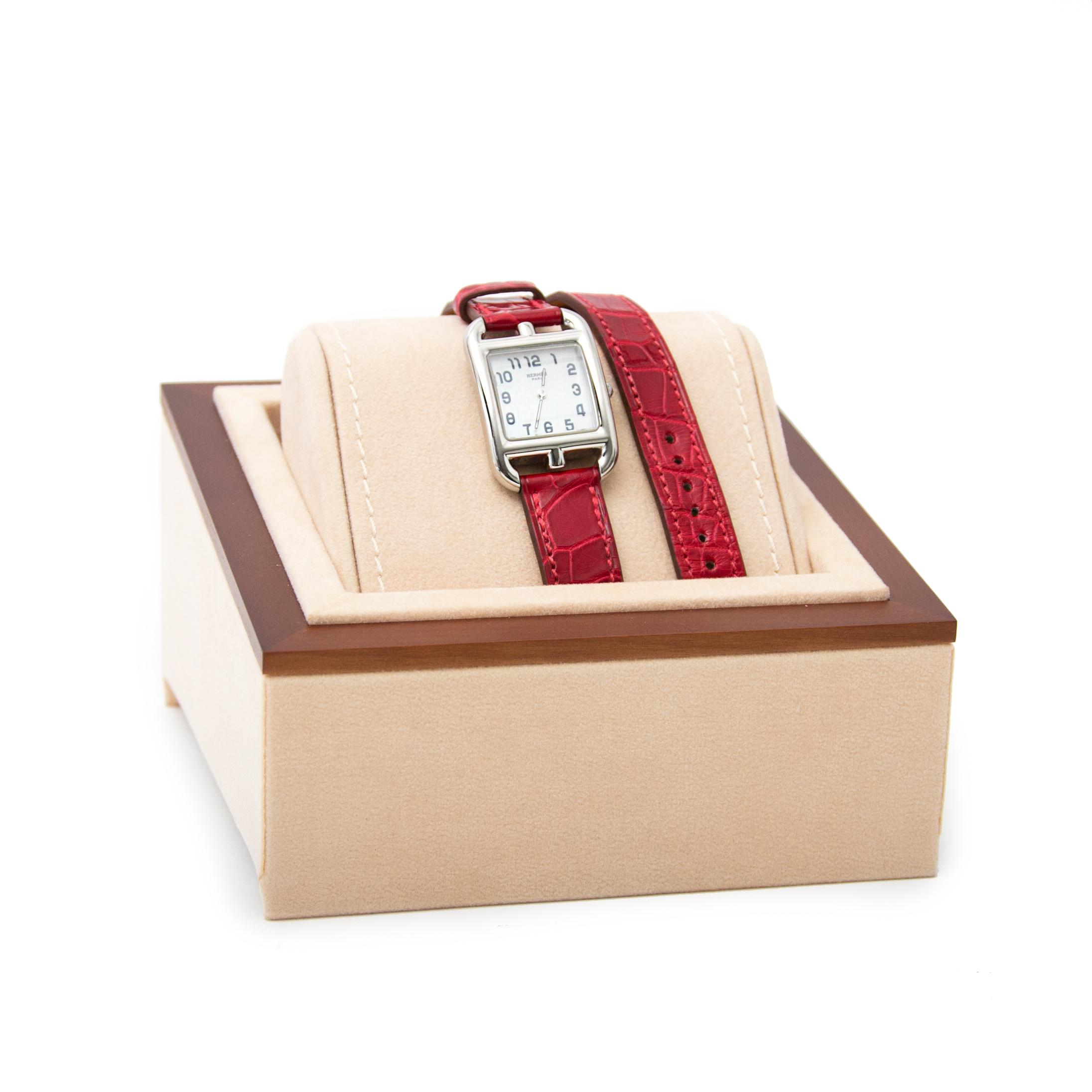 Koop uw authentieke Hermès Cape Cod PM Watch + Straps  aan de beste prijs