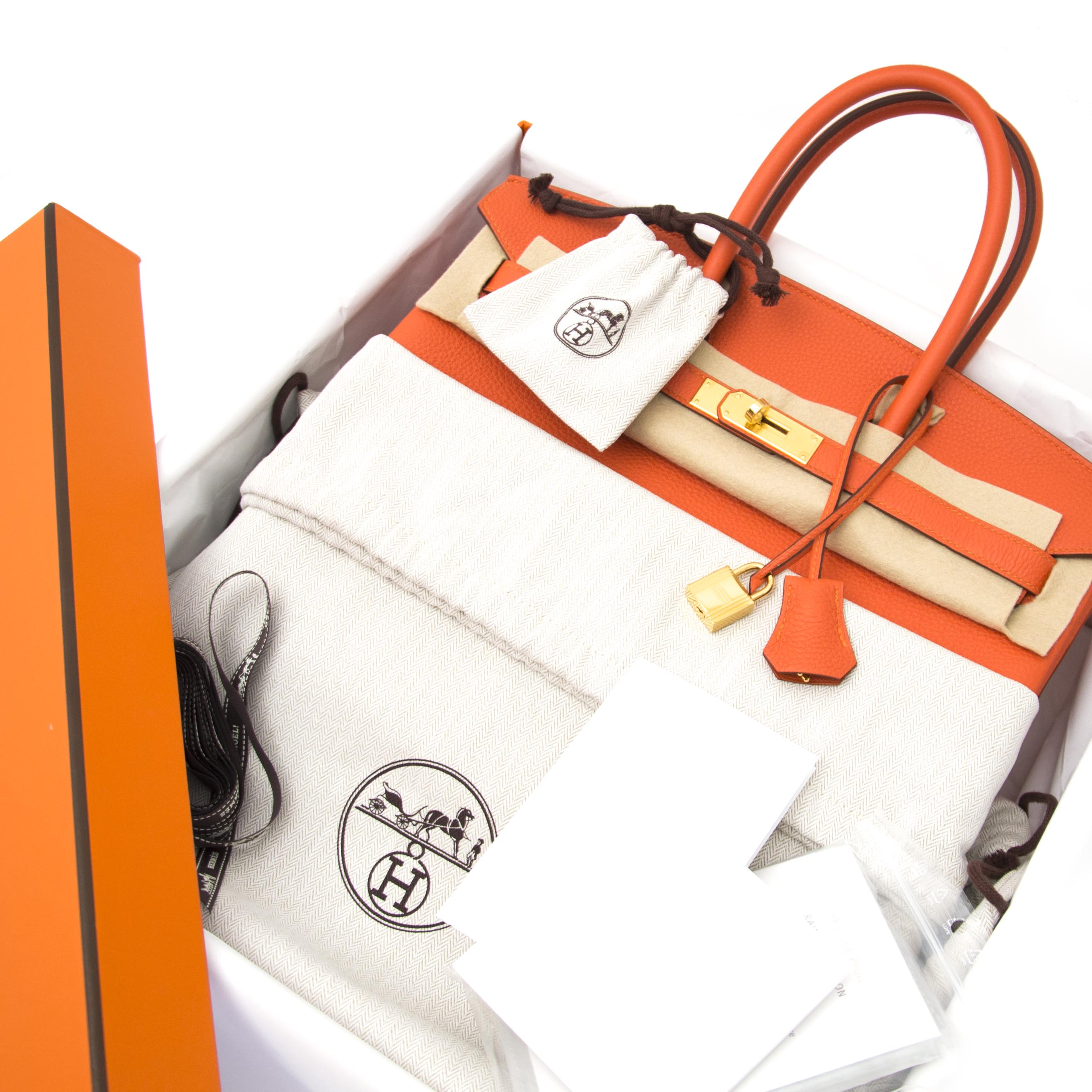 buy safe and secure online at labellov.com hermes birkin 35 togo feu ghw