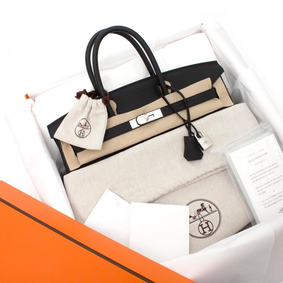 ... koop veilig online aan de beste prijs Brand New Hermes Birkin Black Togo  35 PHW webshop e9b59750284d4