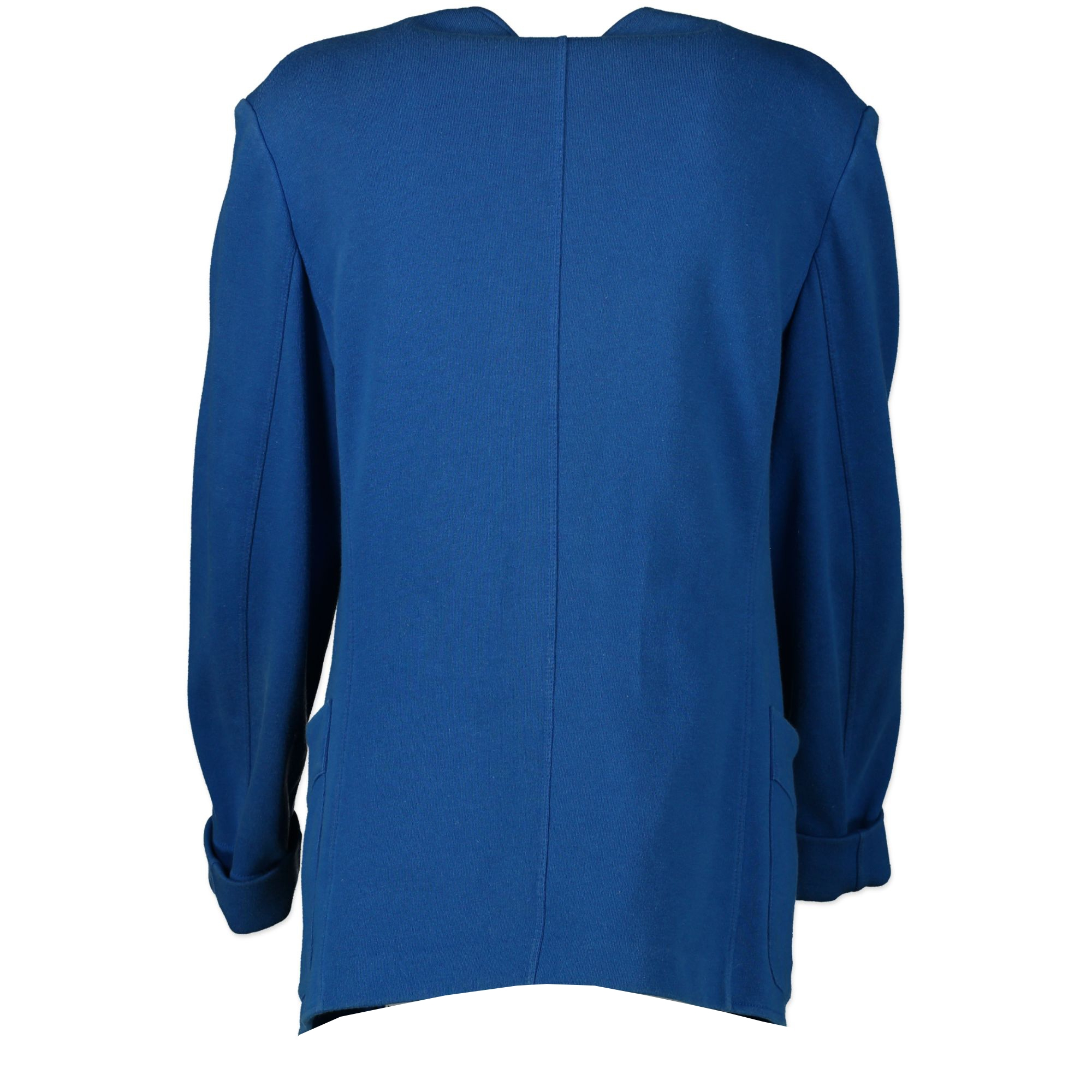 Hermès Cobalt Blue Cotton Jacket for the best price at Labellov online