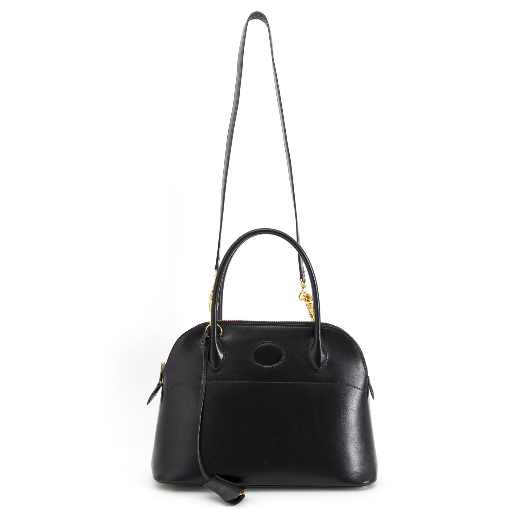 koop online aan de beste prijs Hermes Black Bolide 27 Bag