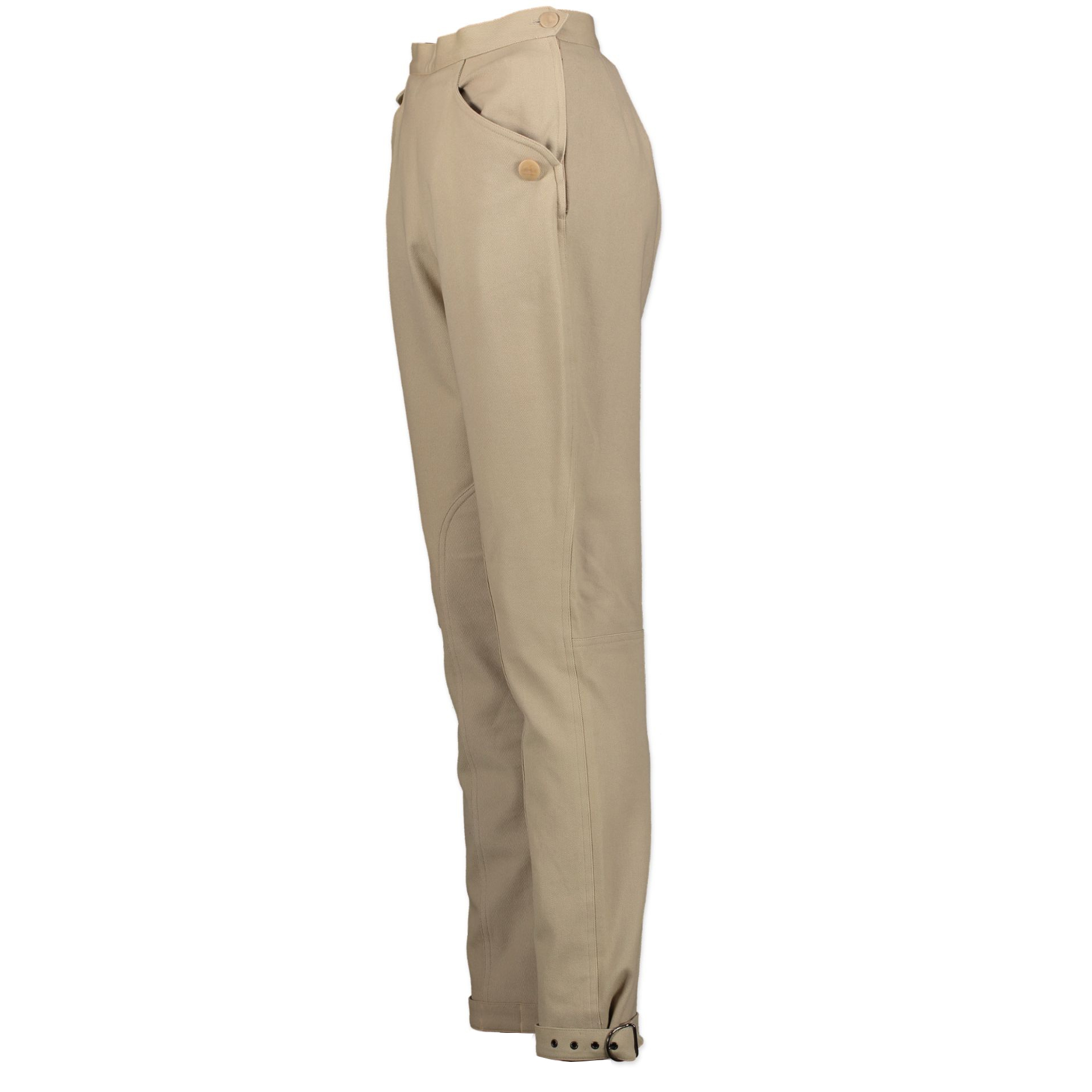 Hermes Beige Horse Riding Pants - Size 38