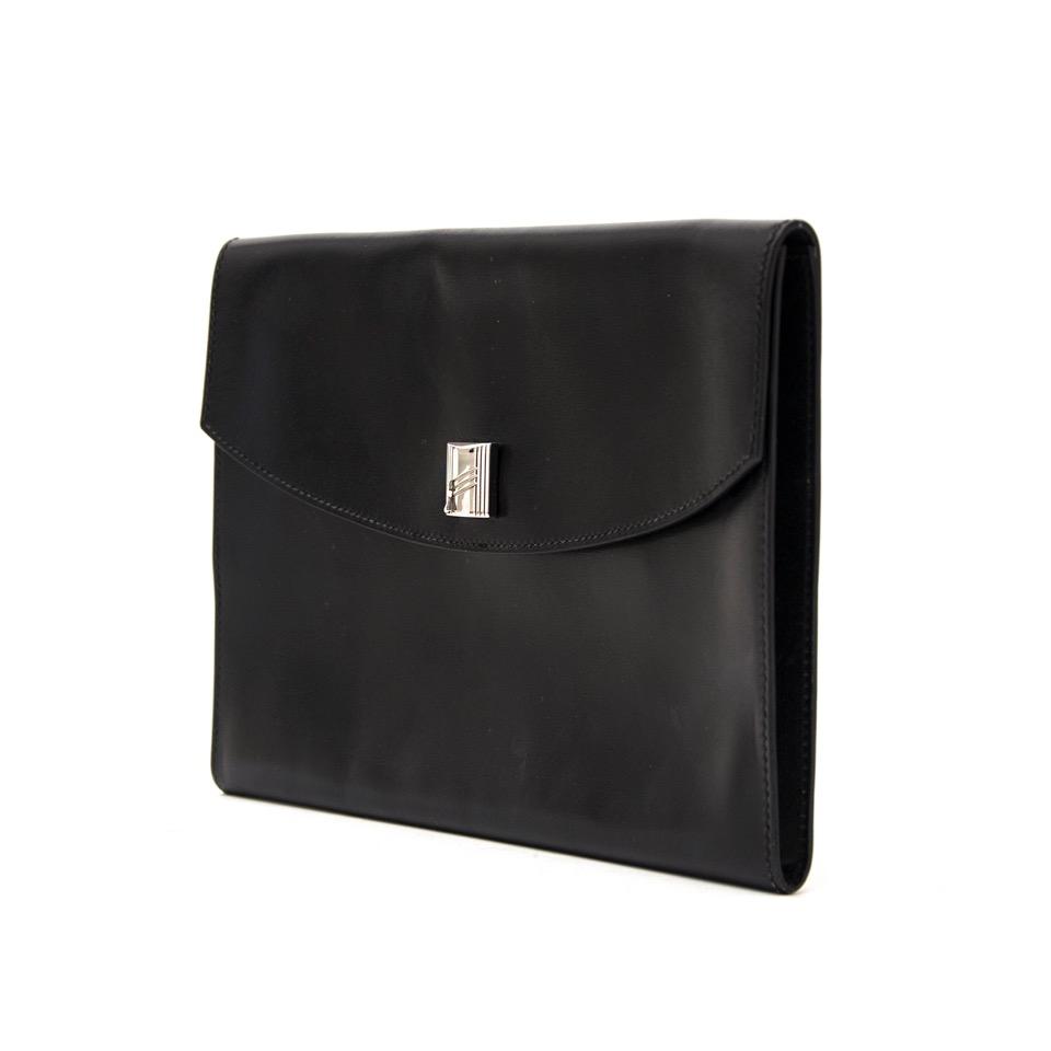 b6ec8ba518ff ... shop safe online at the best price hermes black clutch like new webshop  www.labellov