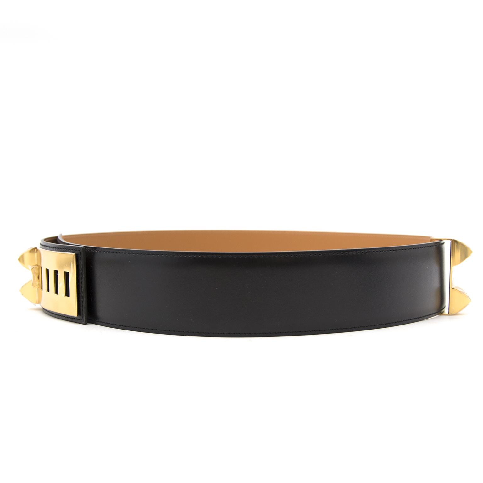 Koop nu veilig een nieuwe Hermès Collier de Chien riem op www.labellov.com aan de beste prijs