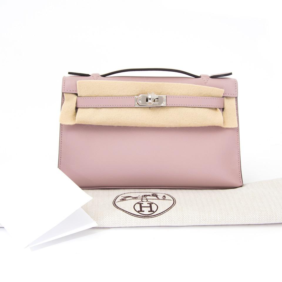 ... acheter en ligne pour le meilleur prix comme neuf Brand New Hermes  Kelly Pochette Bag Mini a27010b82c1a7